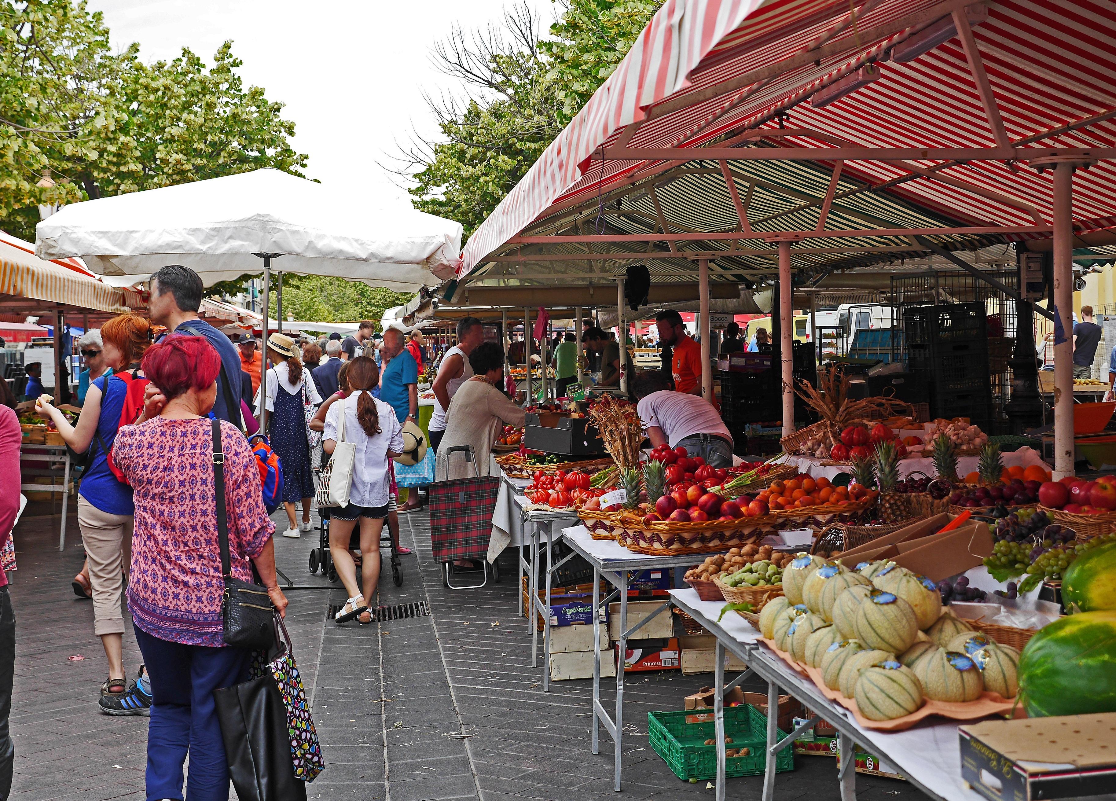 Bien connu Images Gratuites : fruit, ville, vendeur, bazar, Marché, Coloré  OU61