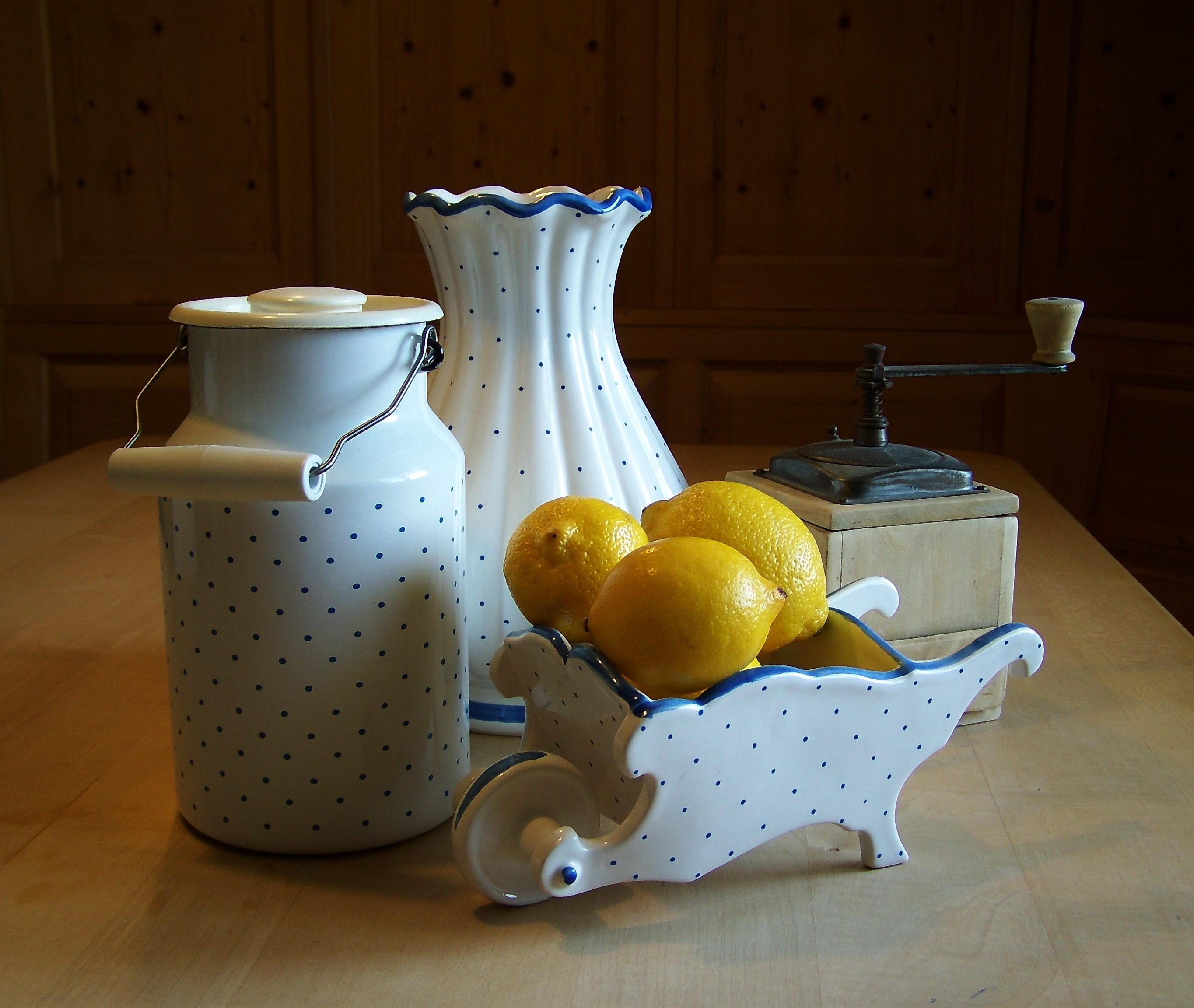 Fotoğraf Meyve Gıda üretmek Seramik Aydınlatma Limon Boyama