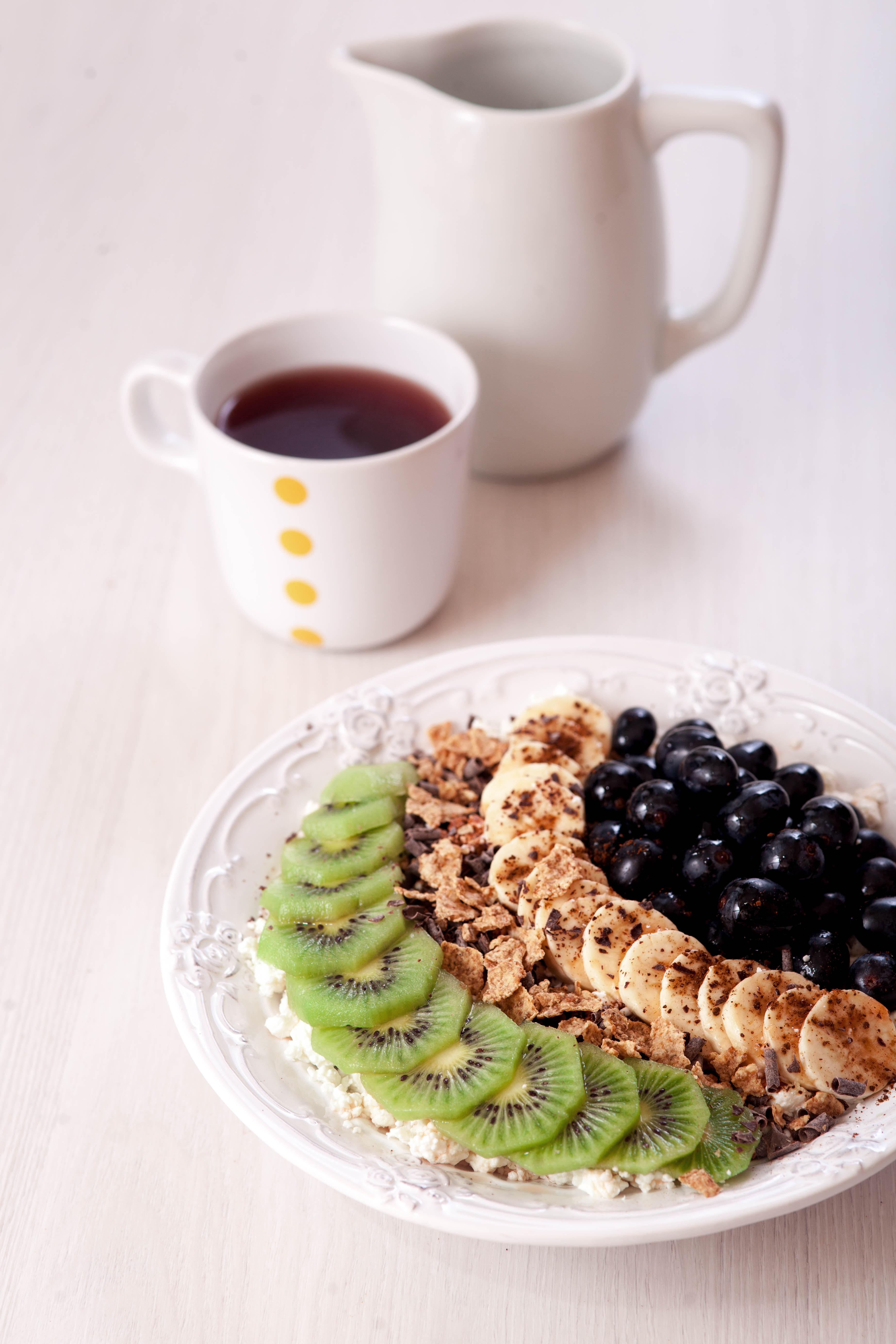 Yulaf Ezmeli Pratik Kahvaltı