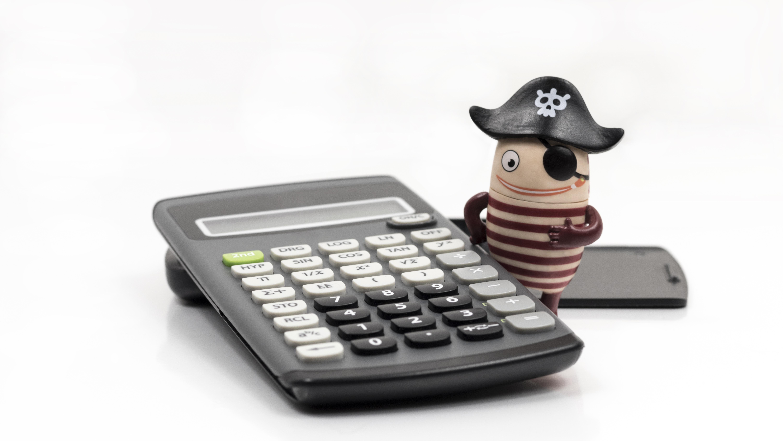 Moblie pirát