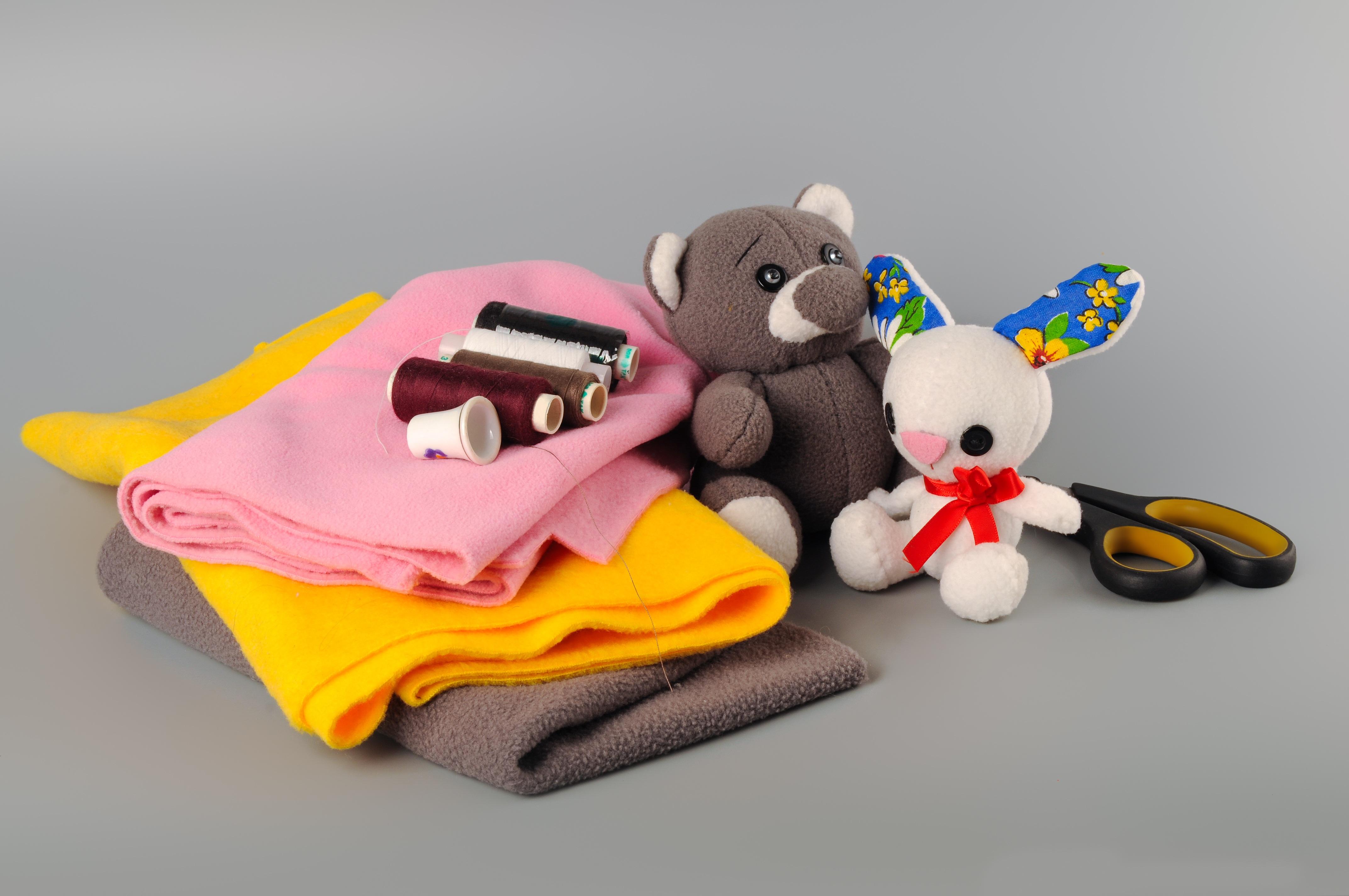 Immagini belle : gioco orso giocattolo infanzia tessuto cucire