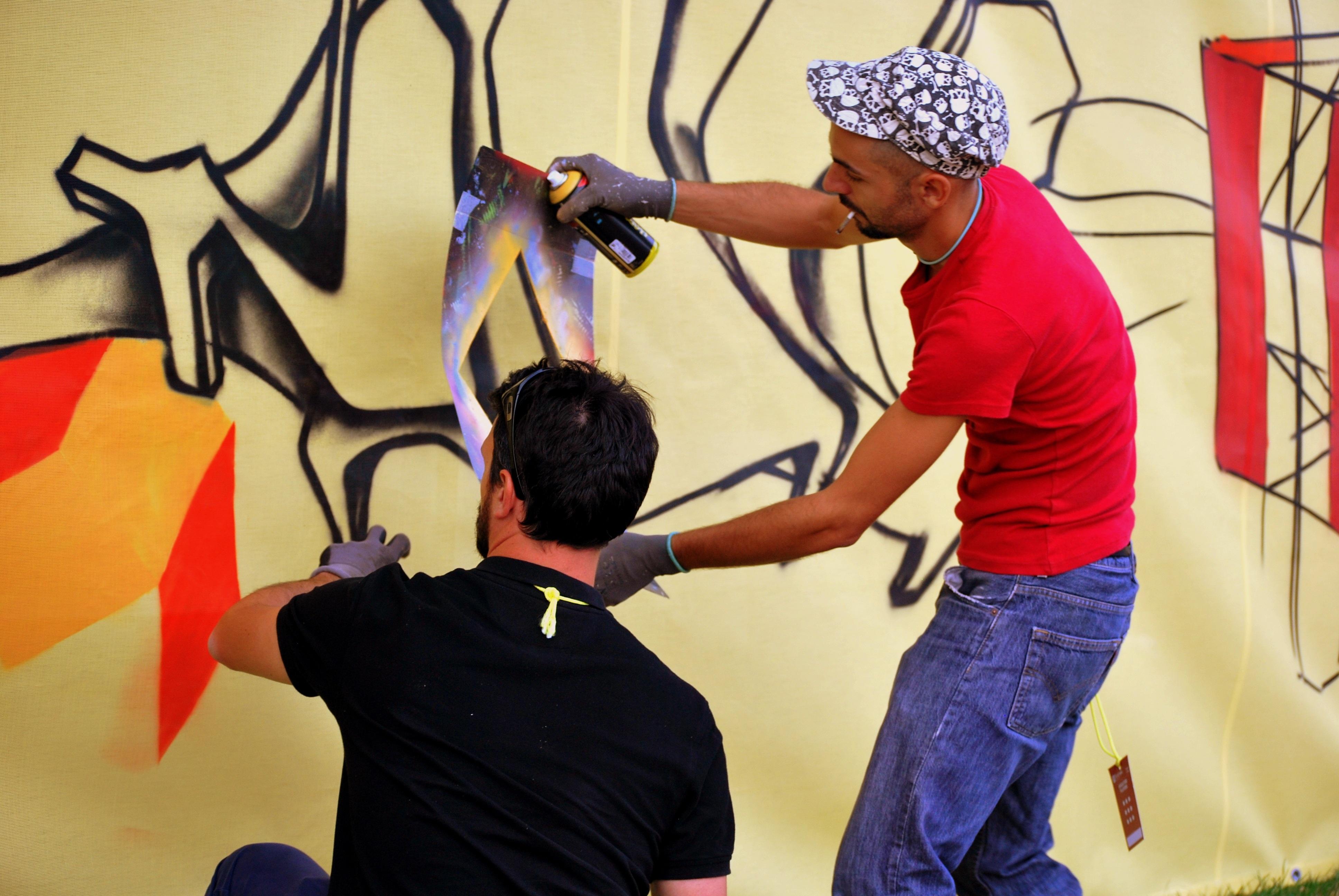 Free Fotobanka Hra Tanec Sprej Italie Grafiti Performance
