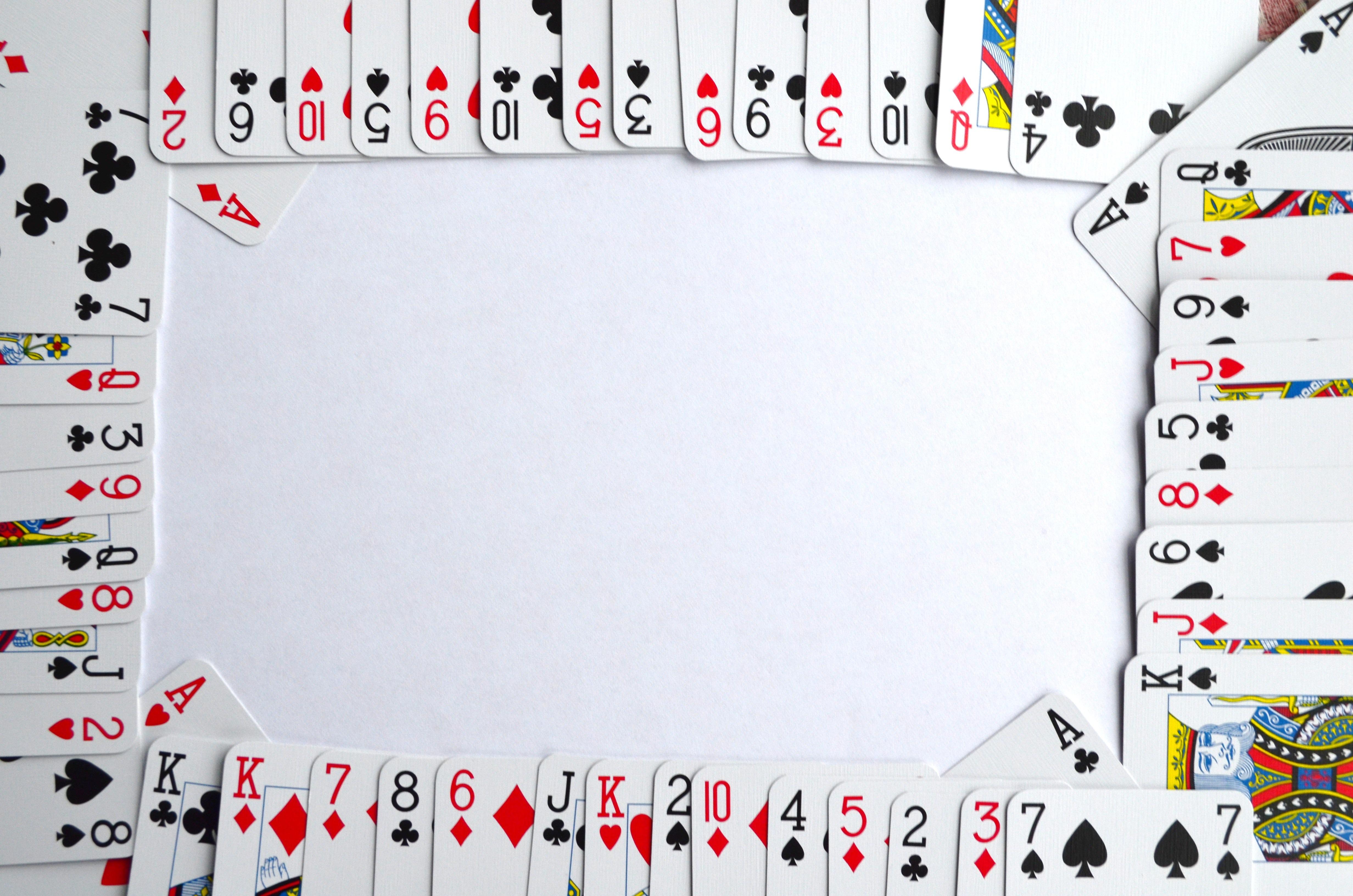 Как сделать из игральную карту