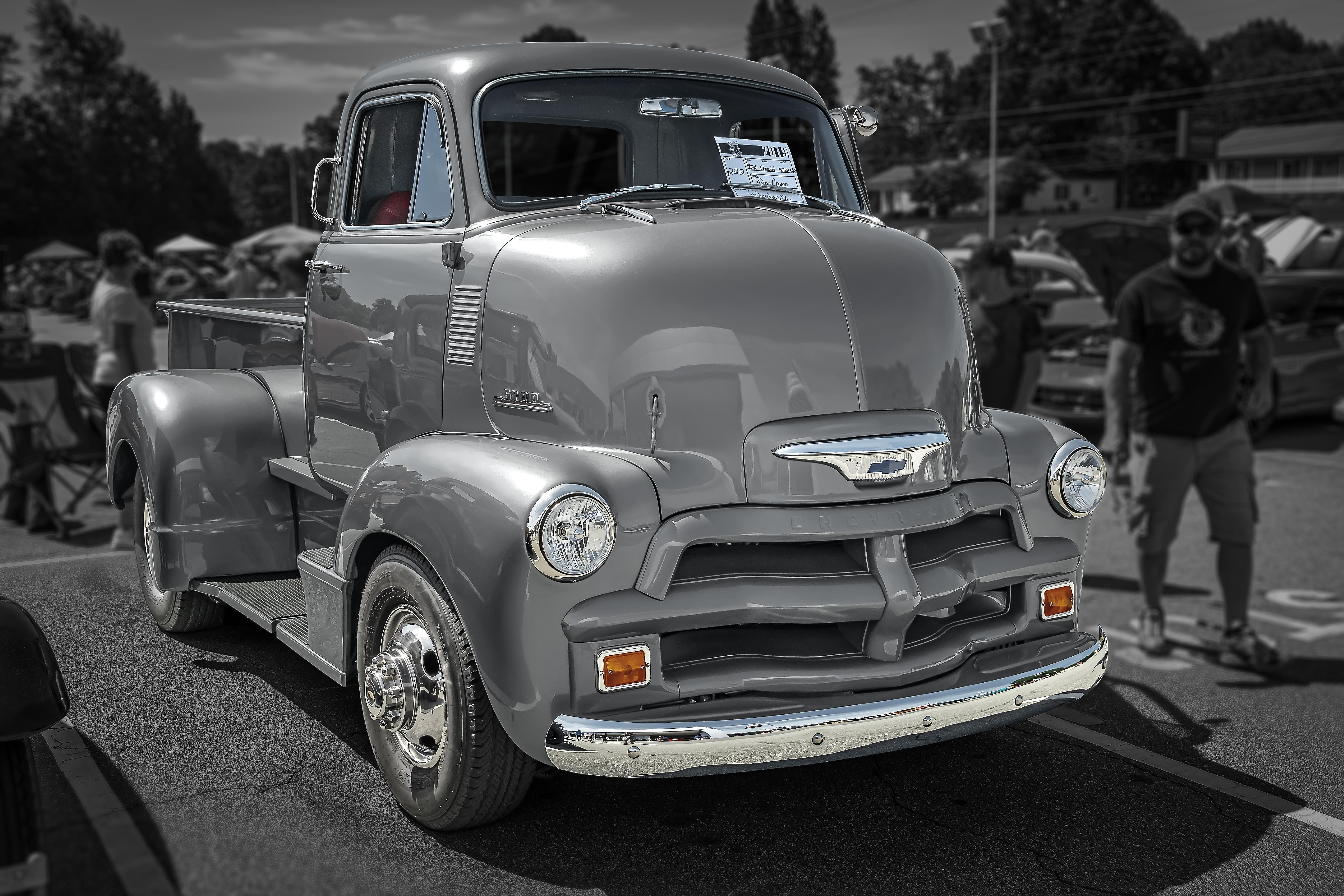 รูปภาพ : ติดแท็กตำแหน่ง, สหรัฐอเมริกา, 1954 Chevrolet, 1954