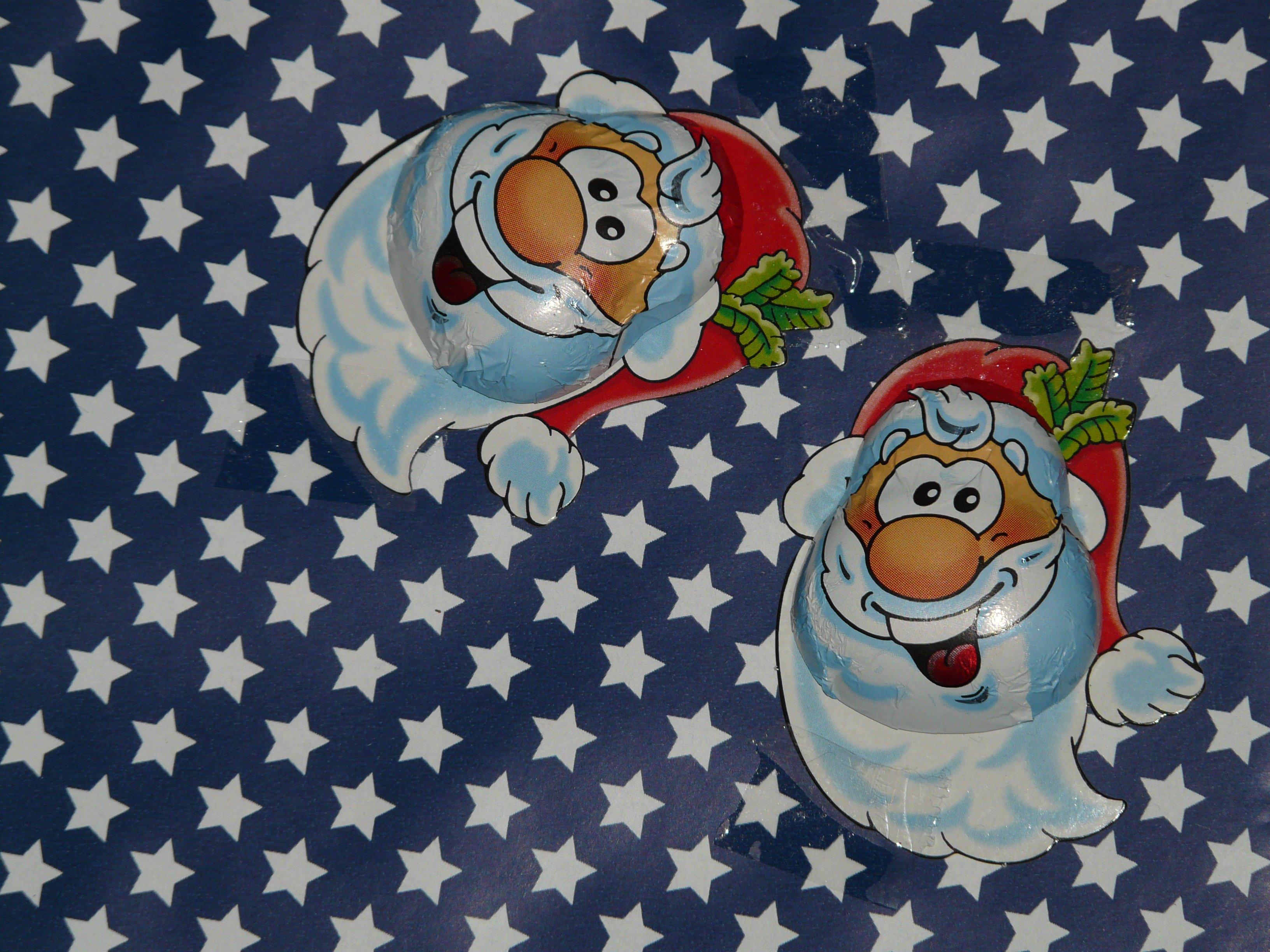 Gambar Hadiah Hari Natal Tertawa Kertas Pembungkus