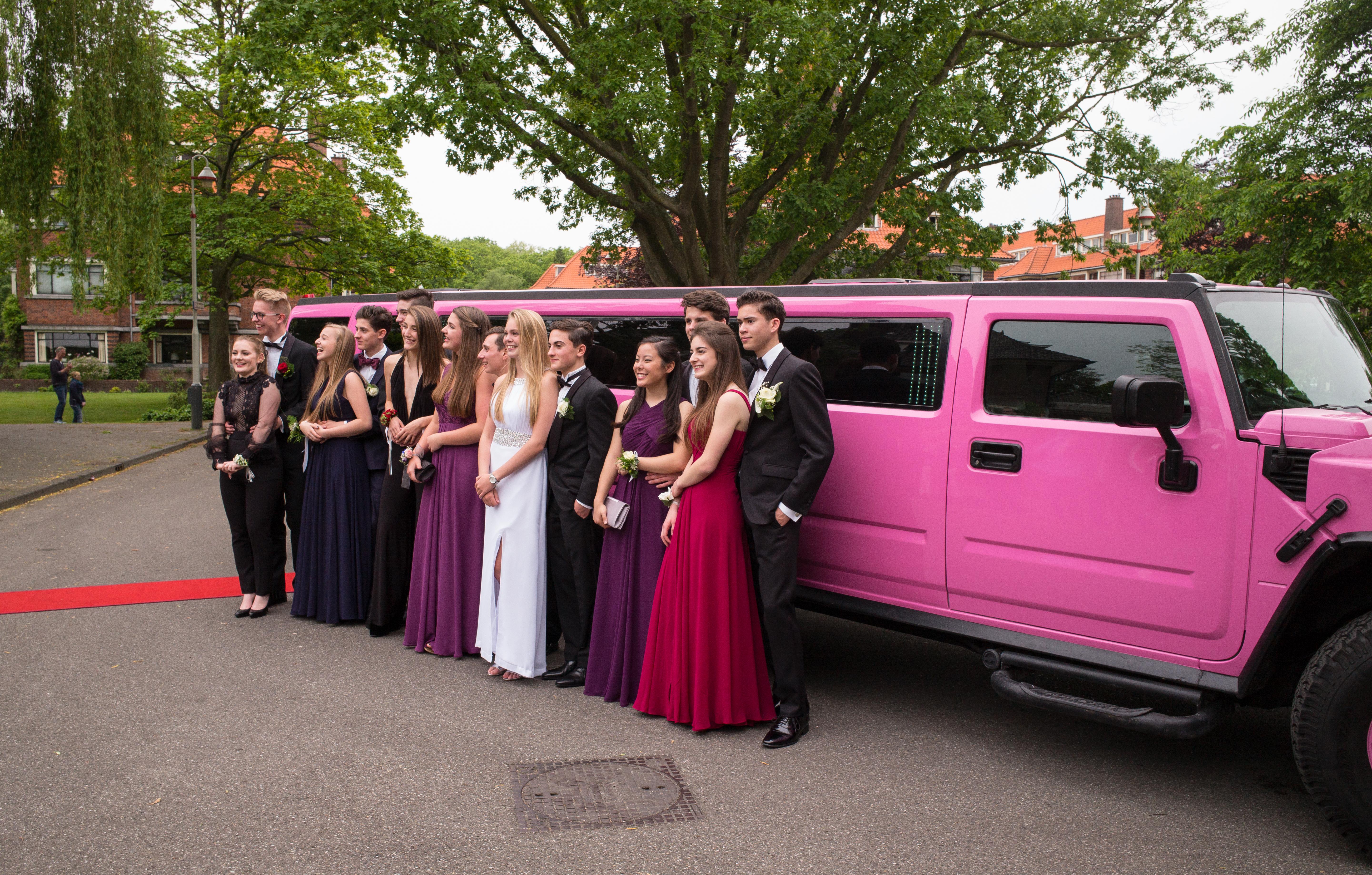 b996d6c78bb girl car boy europe portrait high vehicle tuxedo bowtie holland hague  netherlands m dress students party