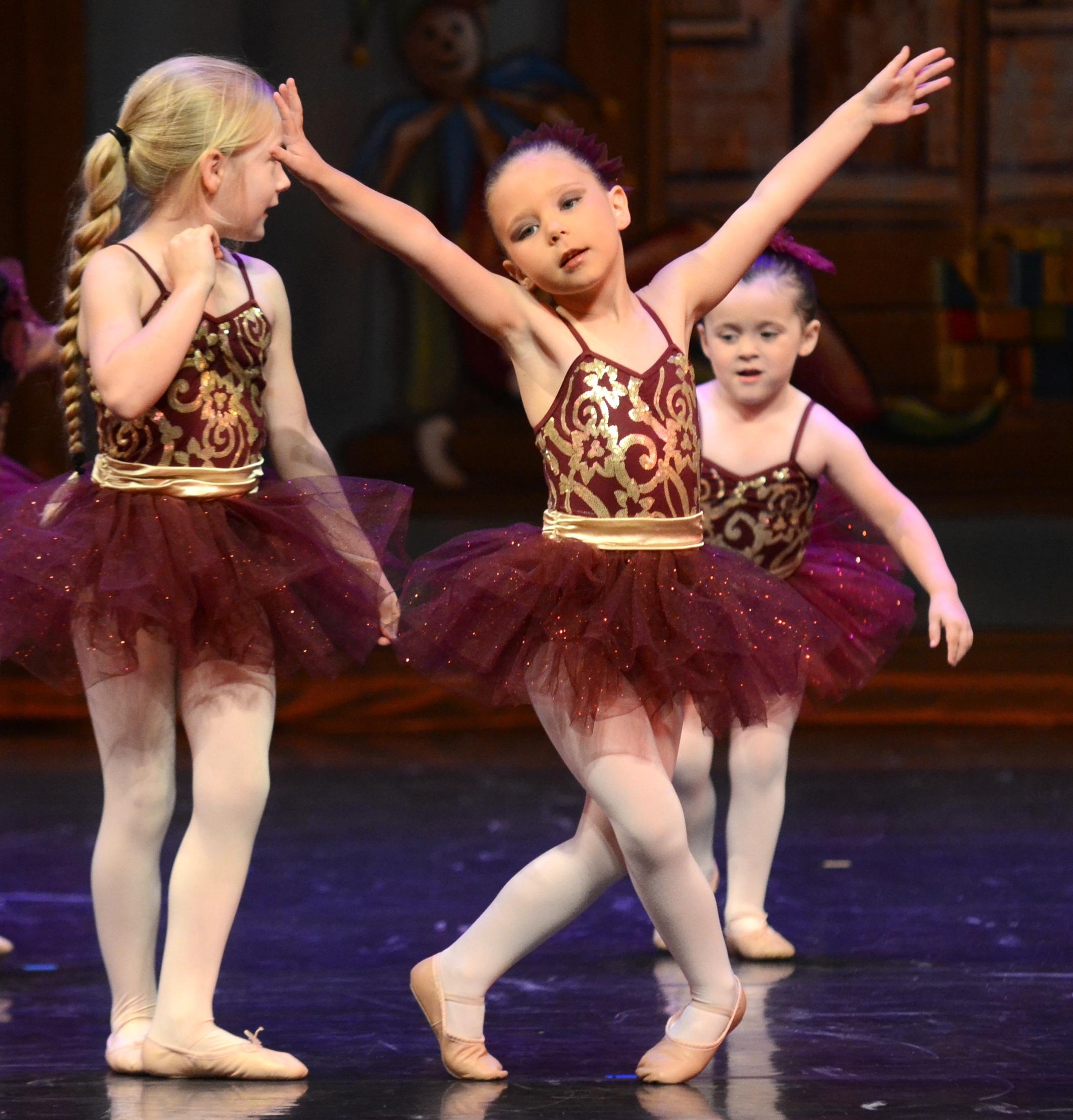 clase alta bailarines pequeño