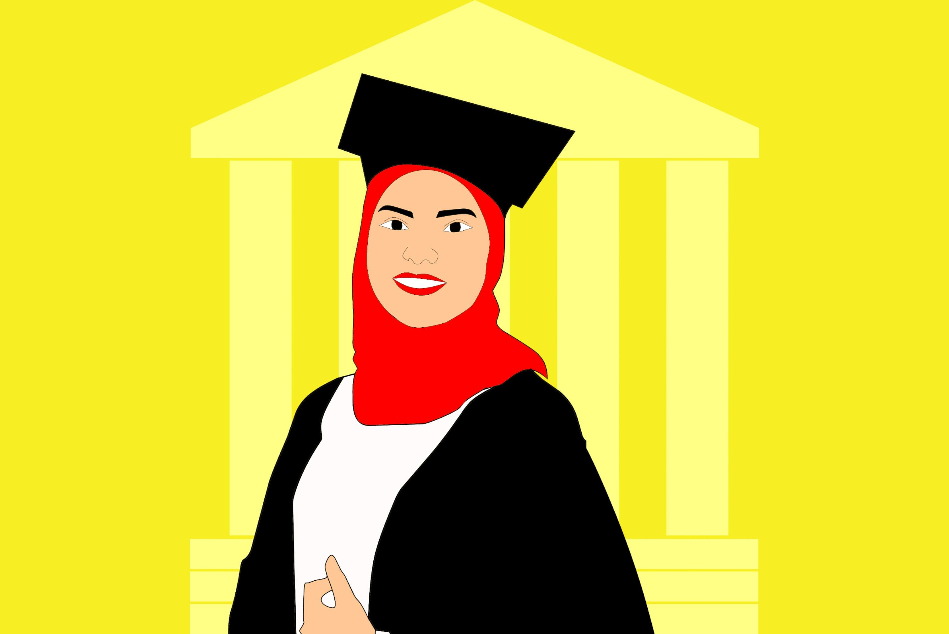 Free Images Girl Graduates Celebration Graduation Education College University Ceremony Hat Cap Success Achievement Symbol Congratulations