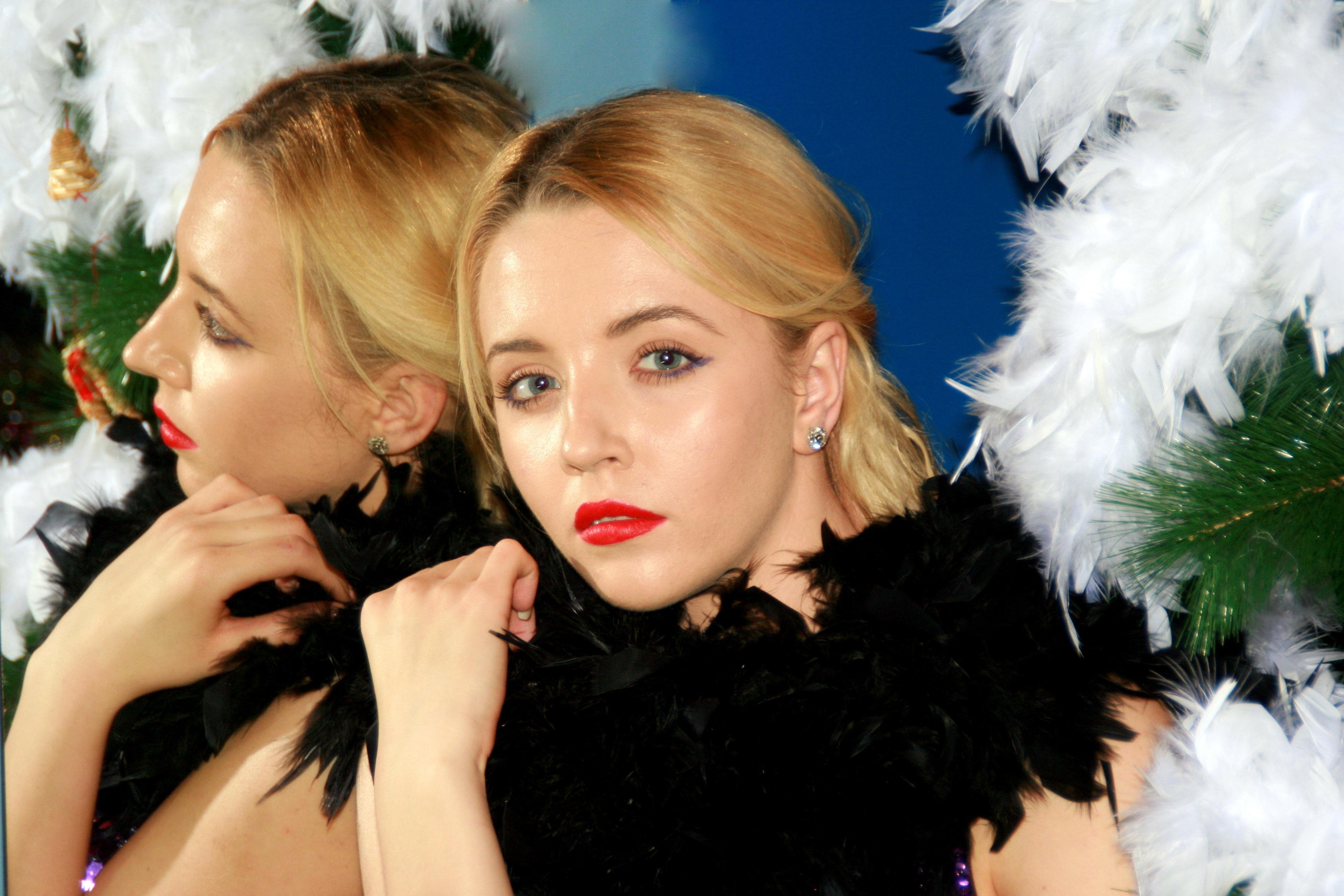 Kostenlose Foto Madchen Haar Modell Mode Dame Weihnachten