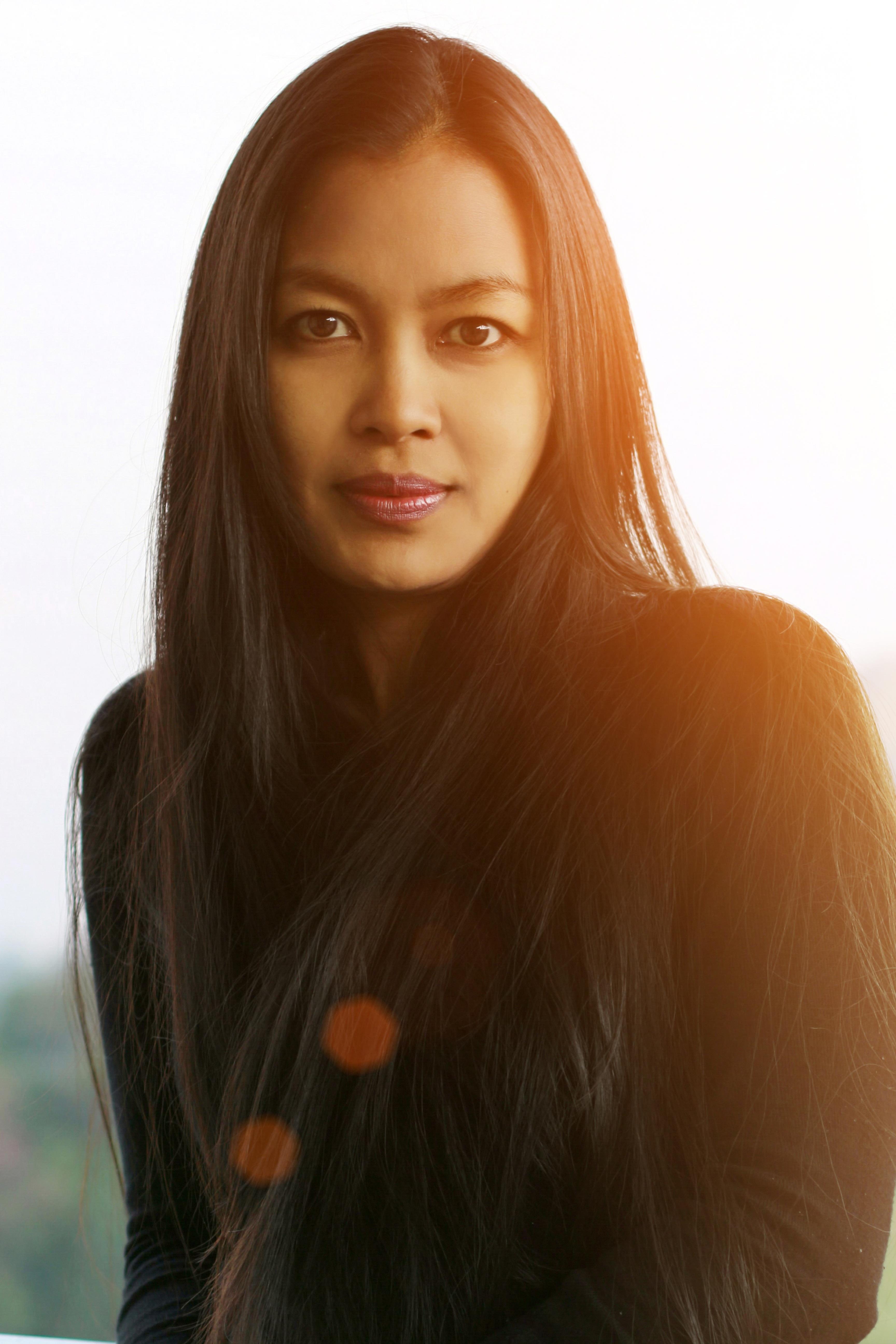 Kostenlose foto Mädchen Modell Lippe Frisur lange Haare