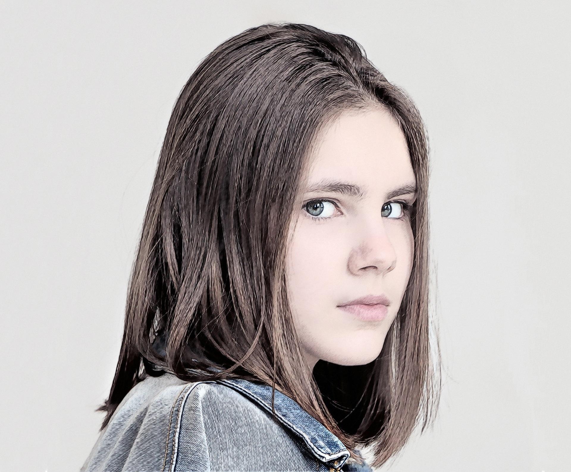 Imagen gratis modelo adolescente