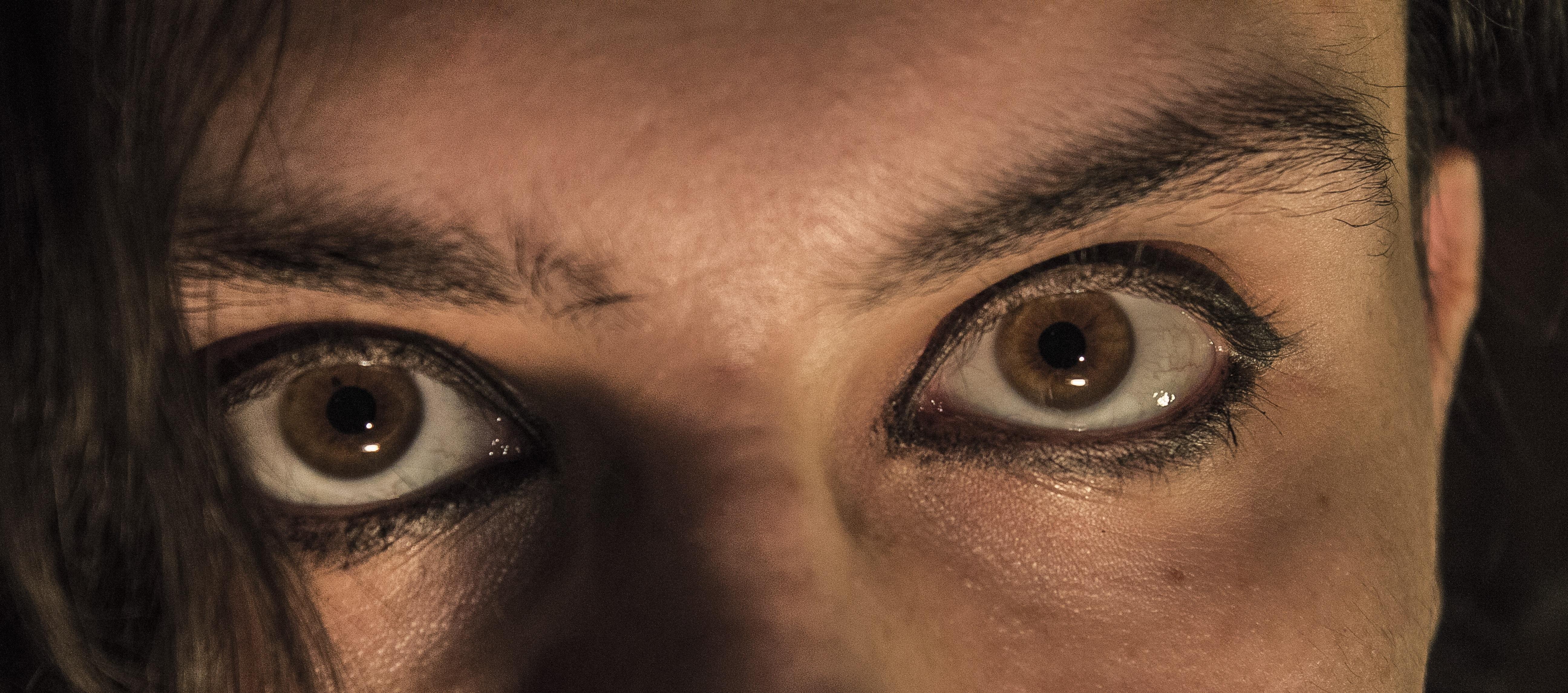 Картинки глаза с веером базе жилых