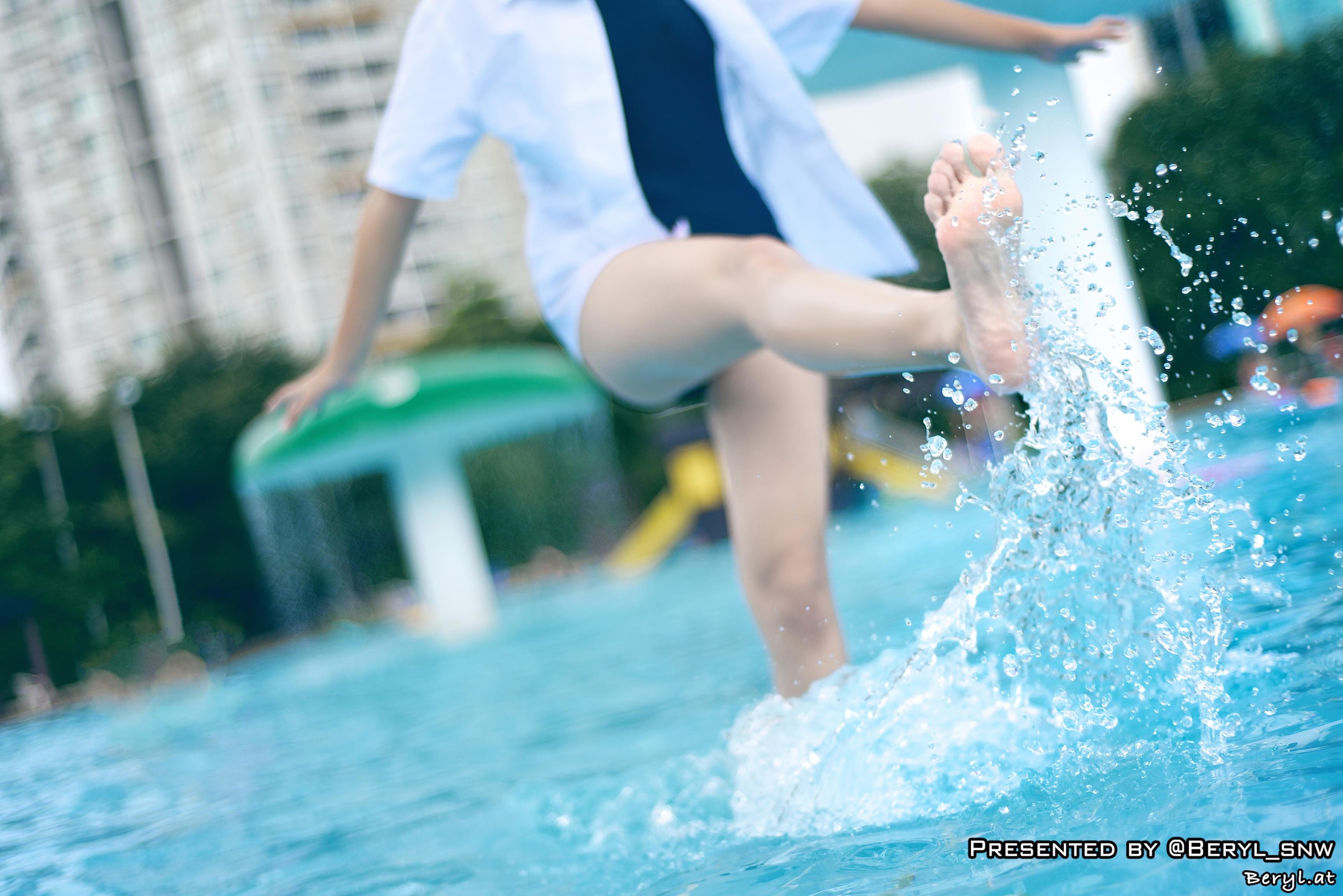Nude aasialainen tyttö pitkät hiukset-4248