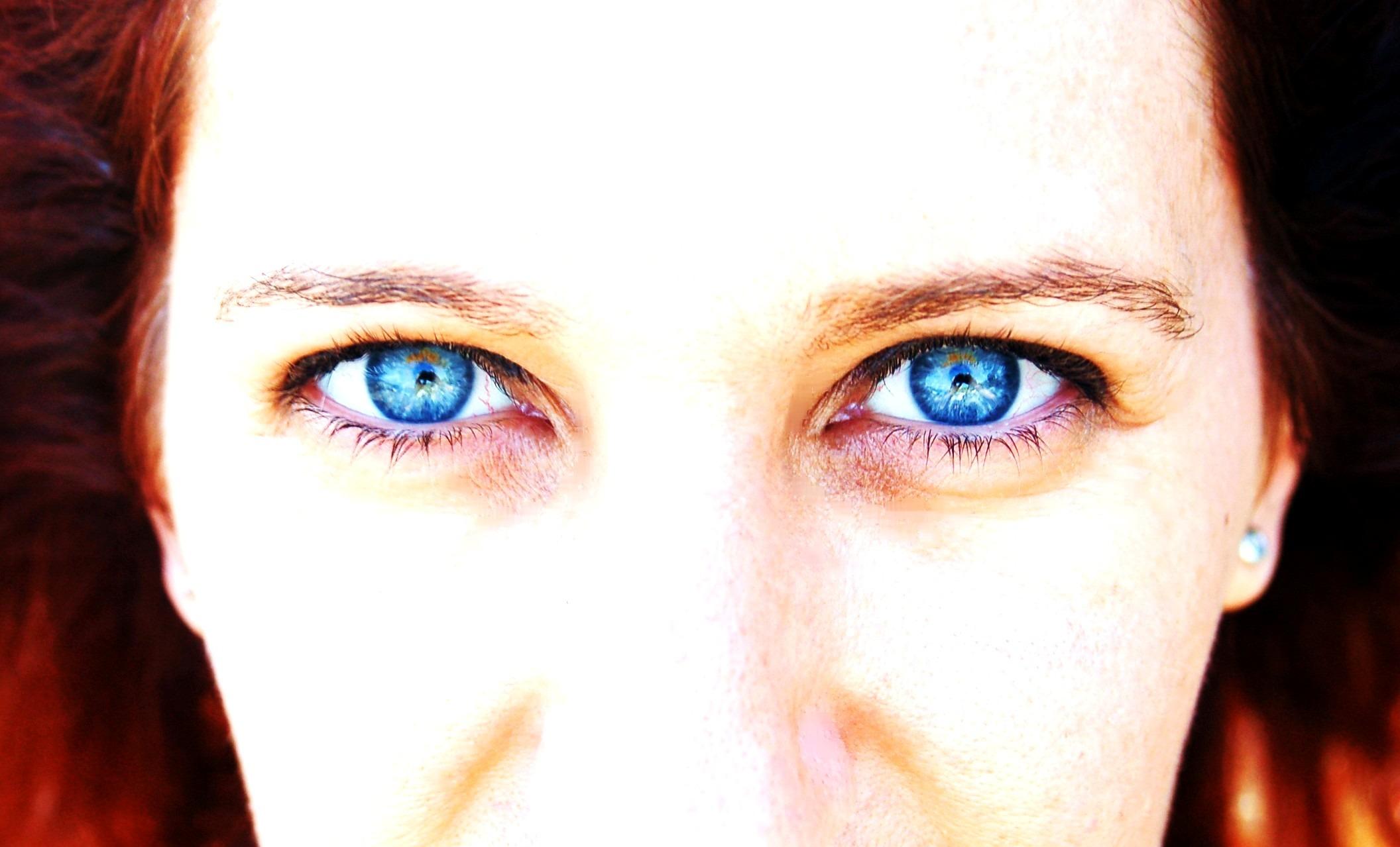Images Gratuites Fille Portrait Couleur Paix Bleu