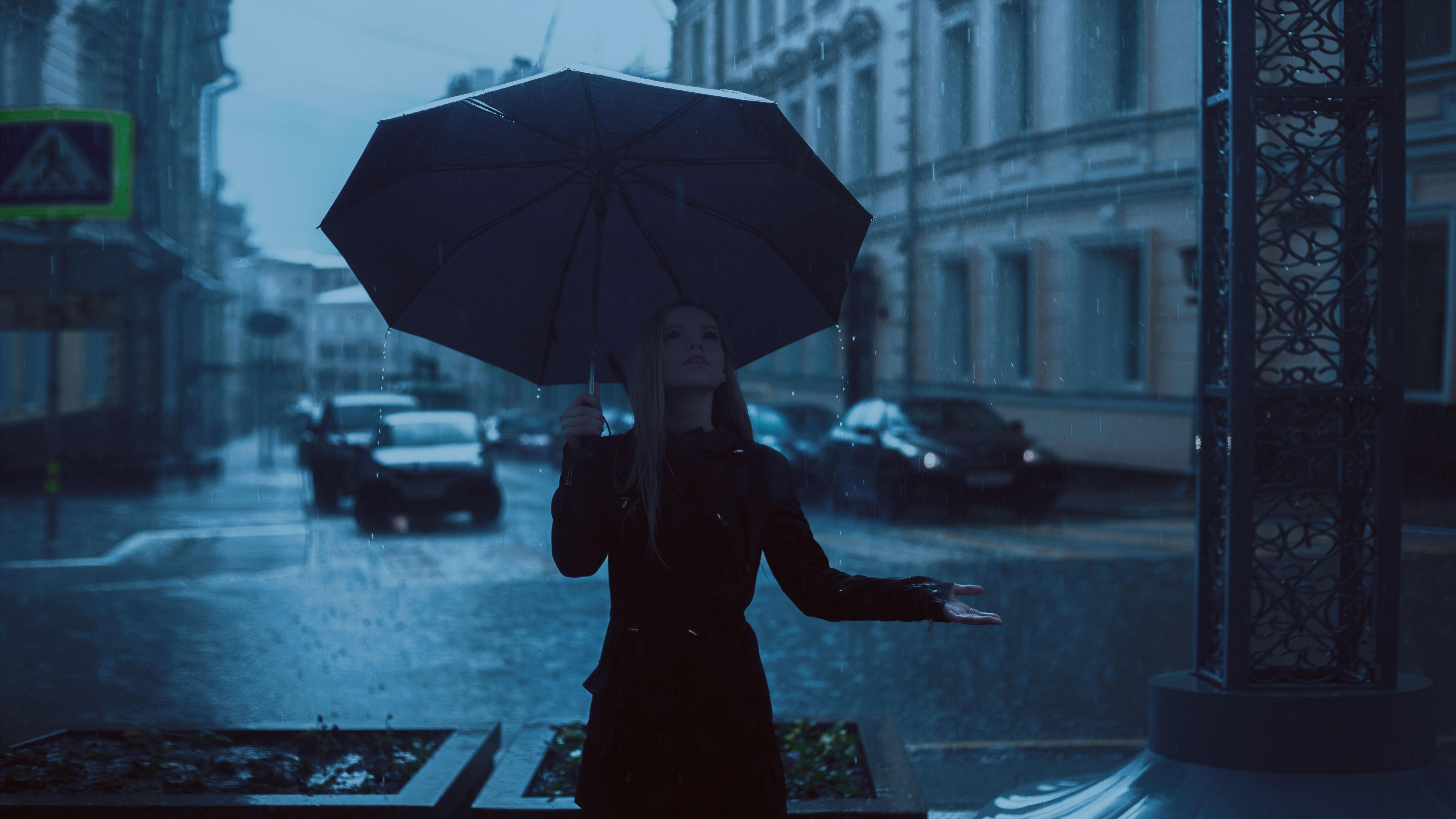 Free Images : Girl, Rain, Cute, Photo, Umbrella, Autumn