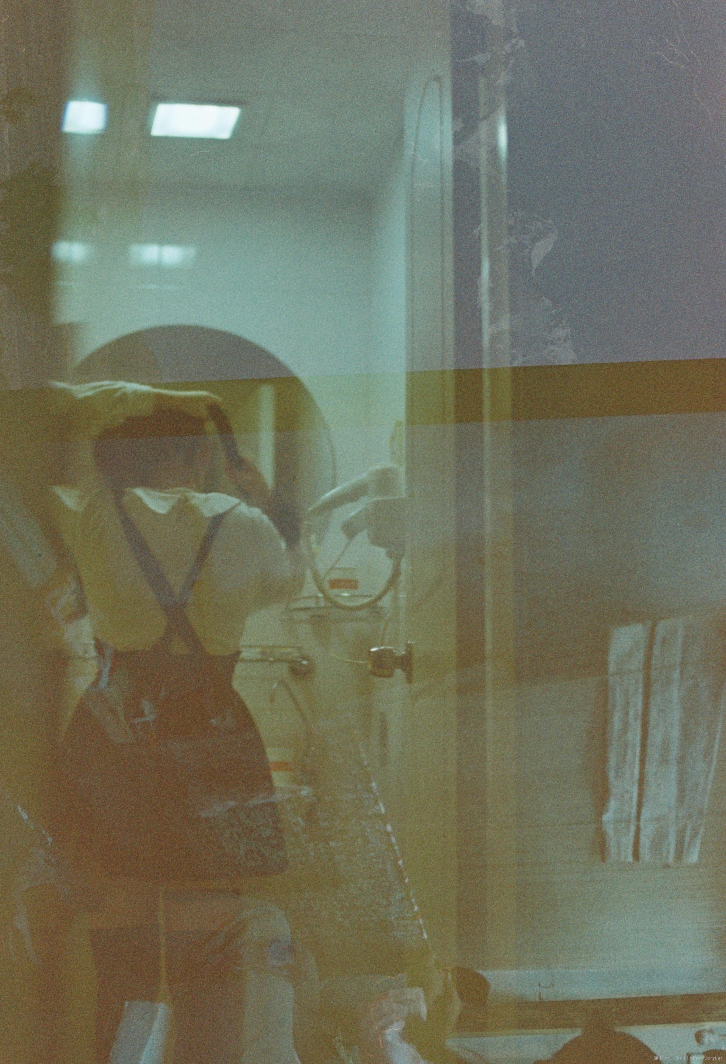 Gambar Gadis Vintage Gandum Kaca Imut Film Cina Nikon