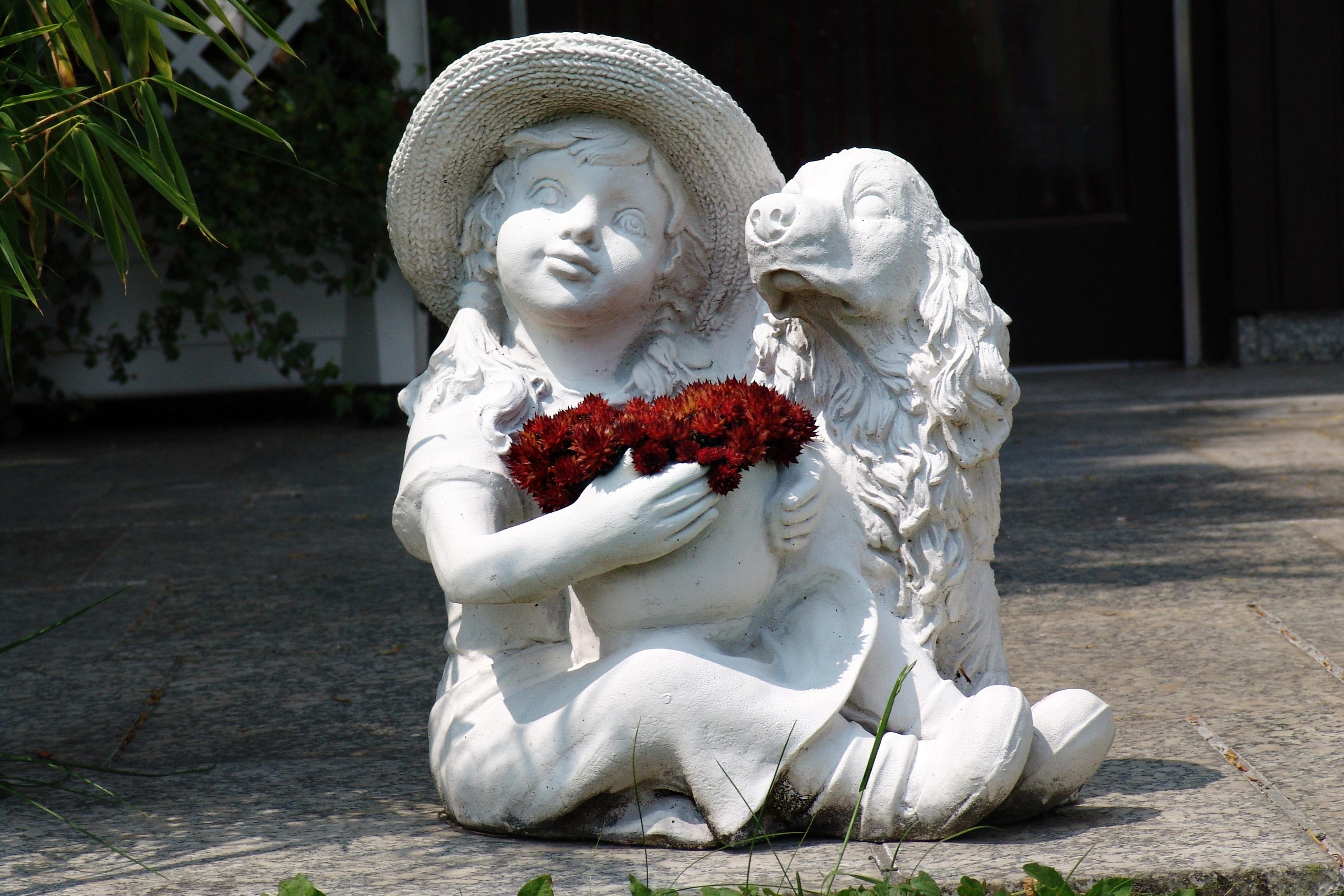 Картинки скульптуры для сада