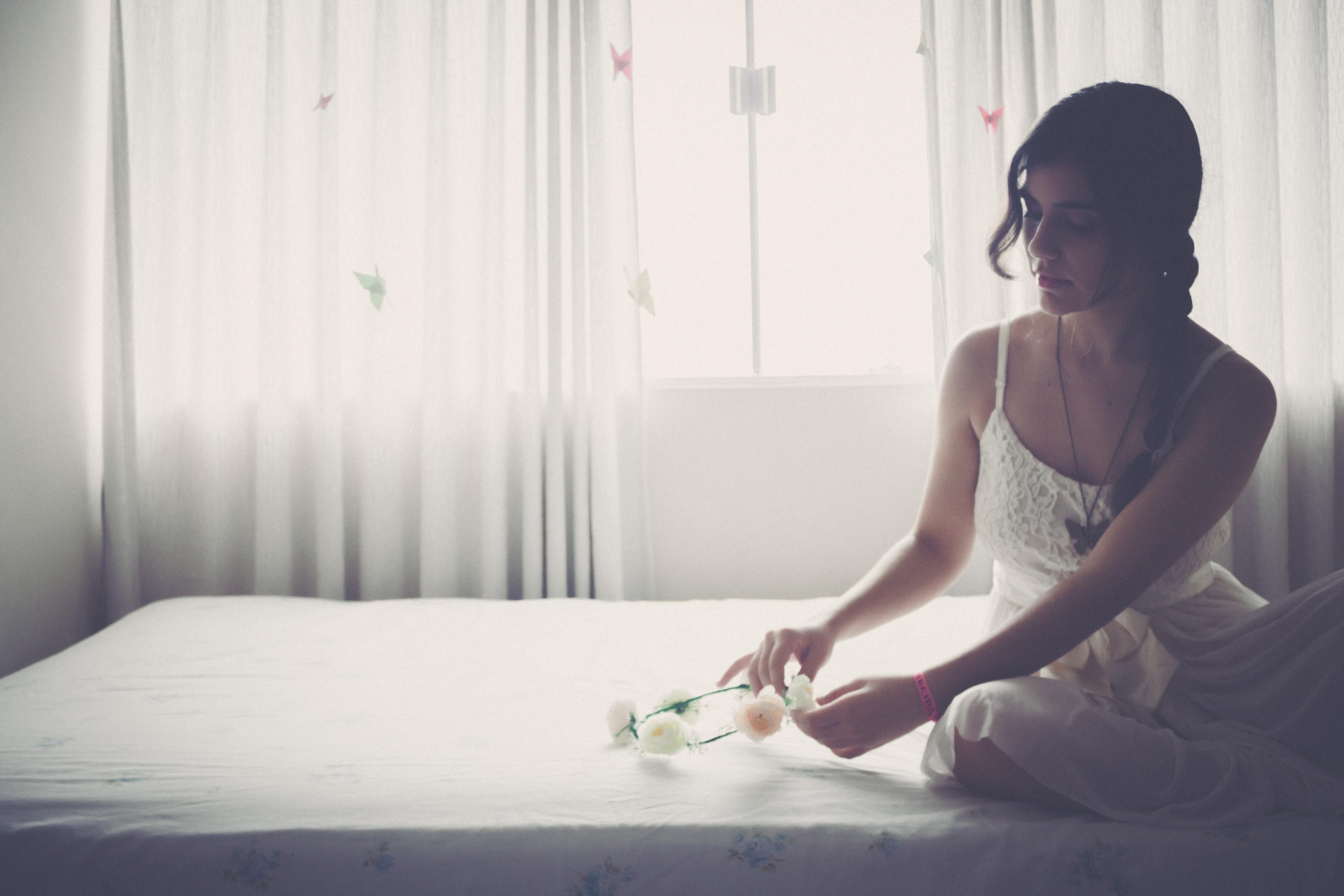Студенты фото невесты в постели супер