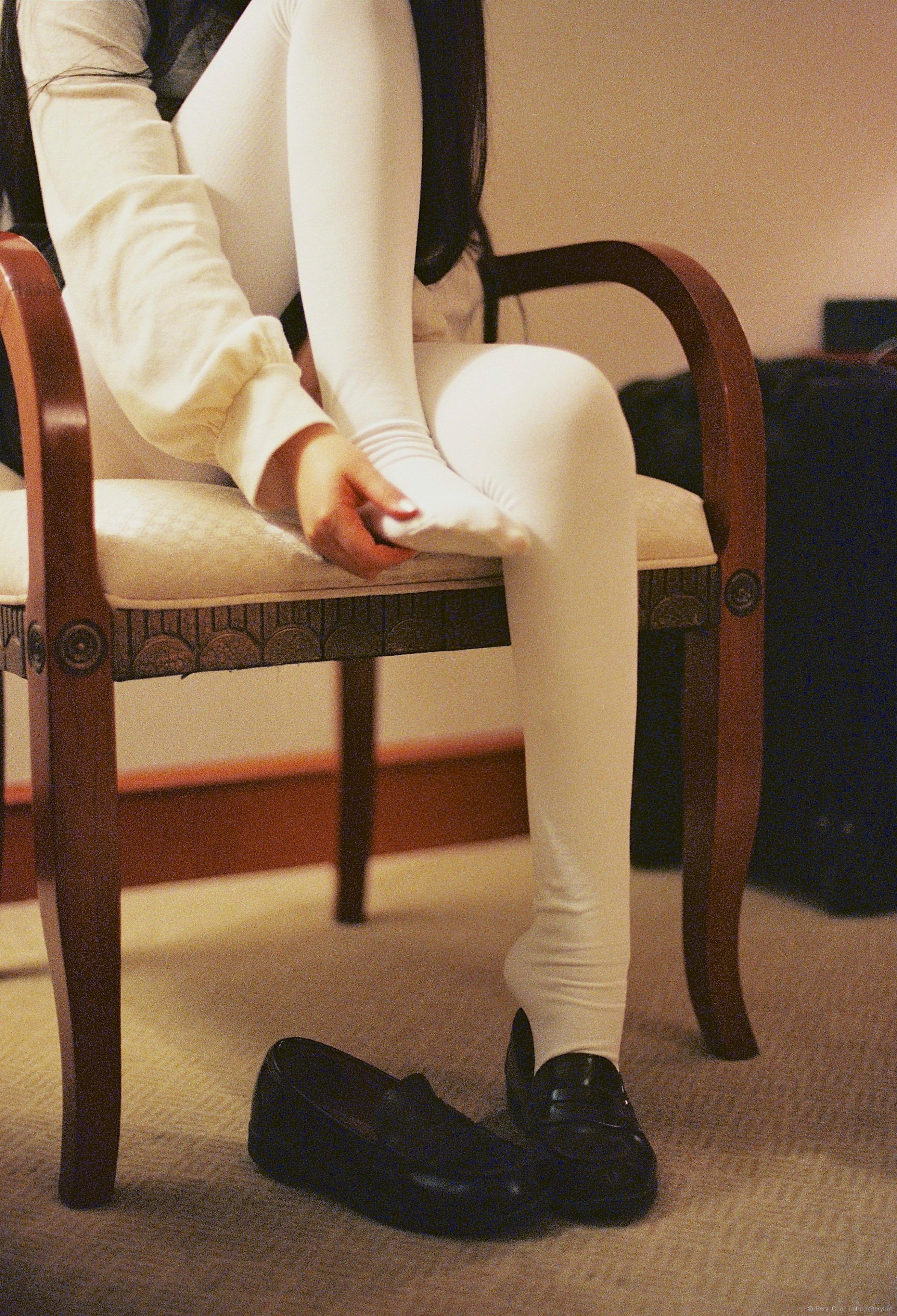 Norsk teen in stockings - 5 1