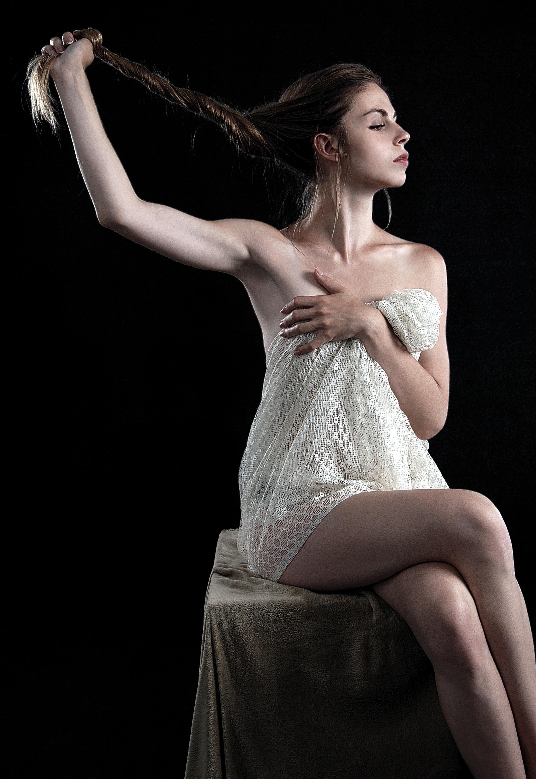 naken modell positurer