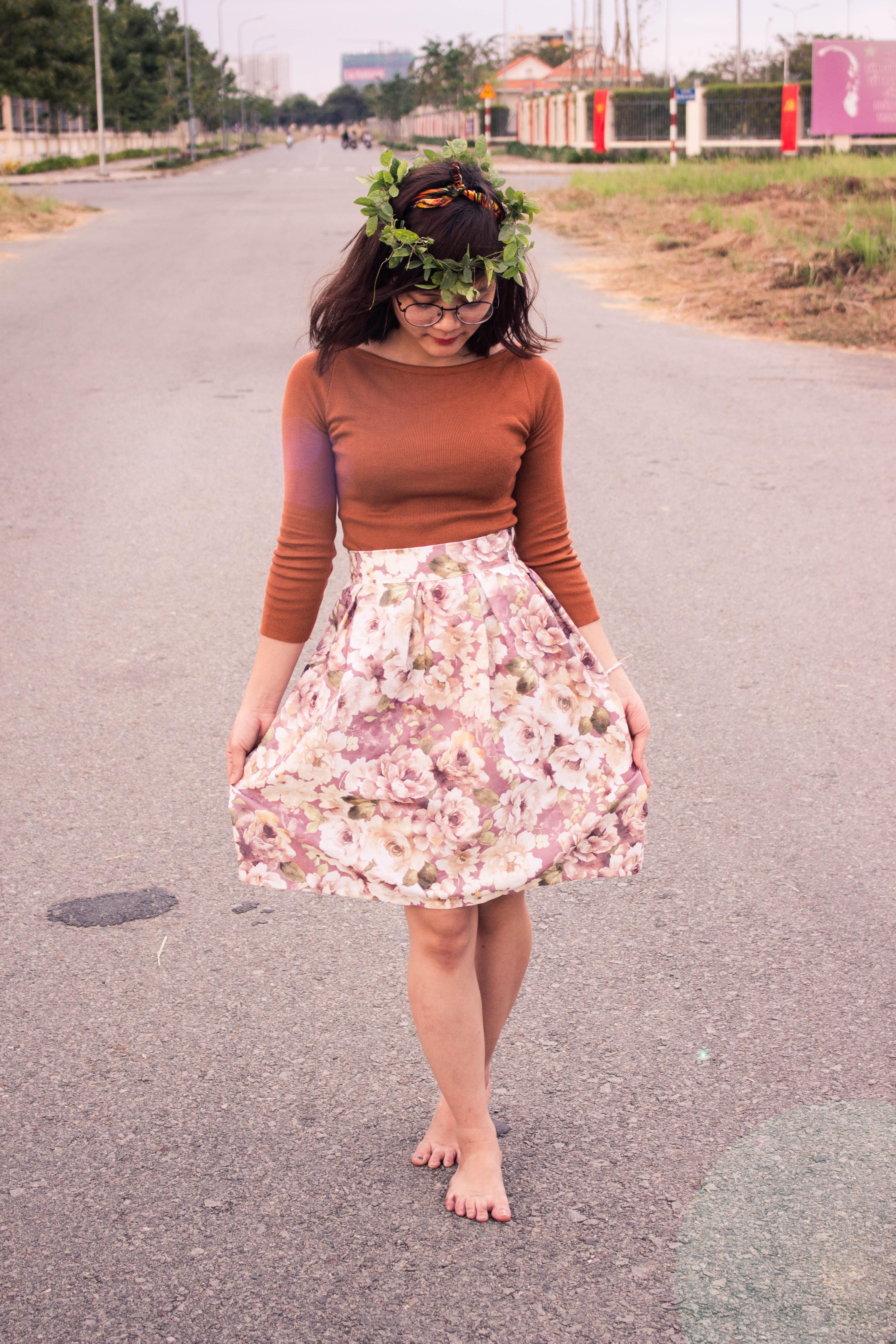 Fotos gratis : niña, mujer, pierna, patrón, modelo, primavera, rojo ...
