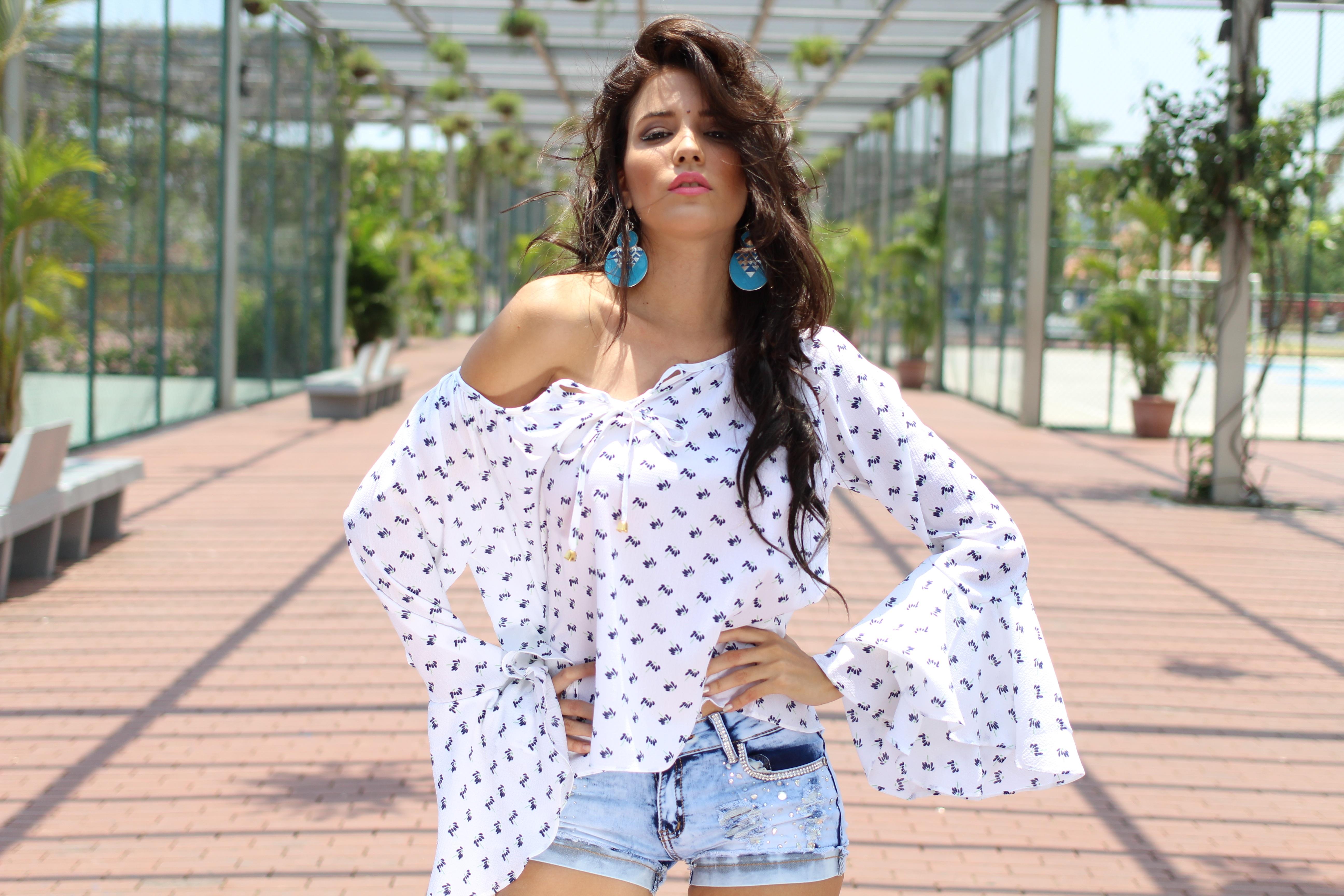 Moda Fotos Joven Primavera Patrón Mujer Modelo Gratis Niña qqRf0
