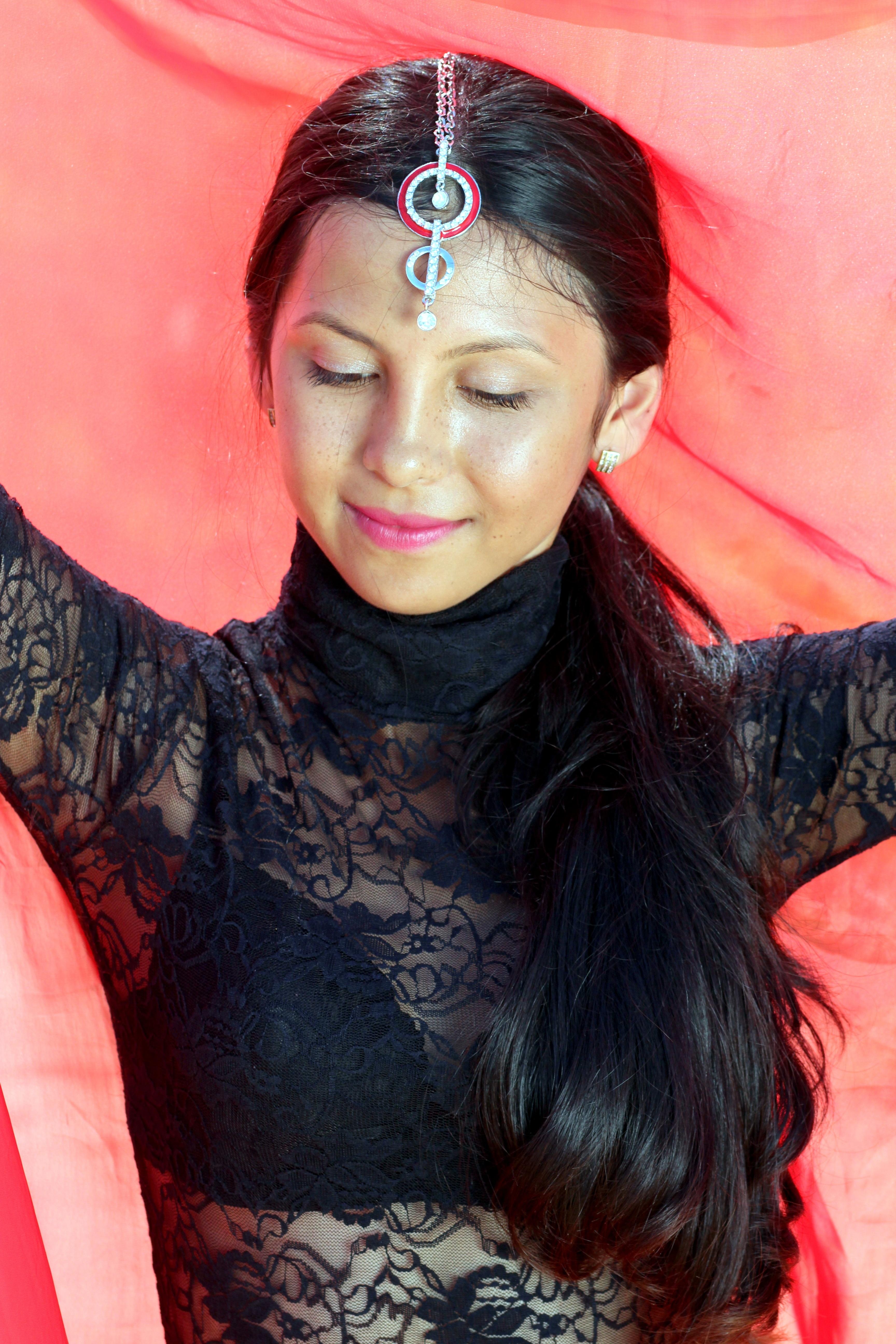 Фото прически восточной красавицы