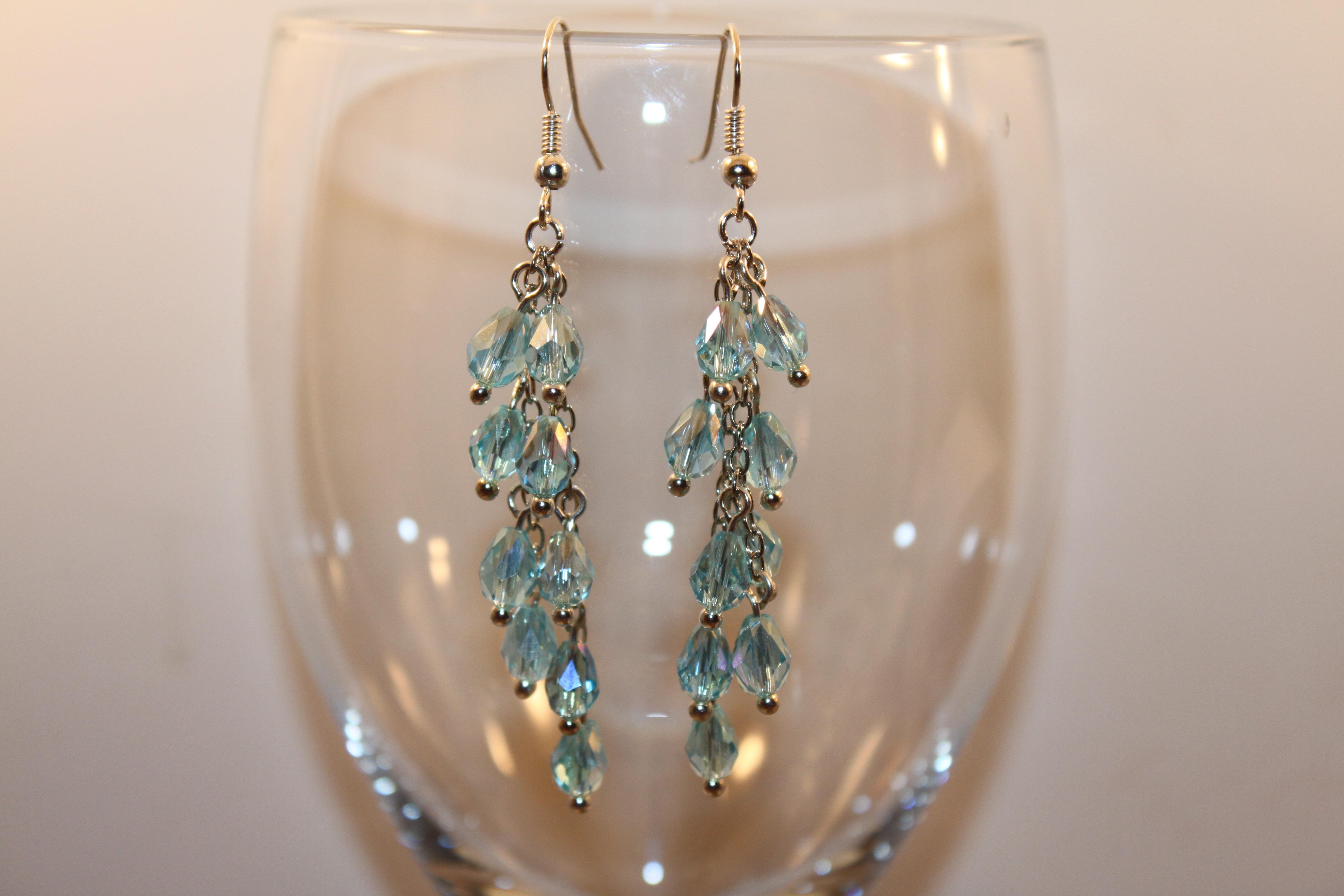 923a40f62df3 vaso talón iluminación arete joyería aretes accesorios belleza hermosa  cristal lujoso Accesorio de moda