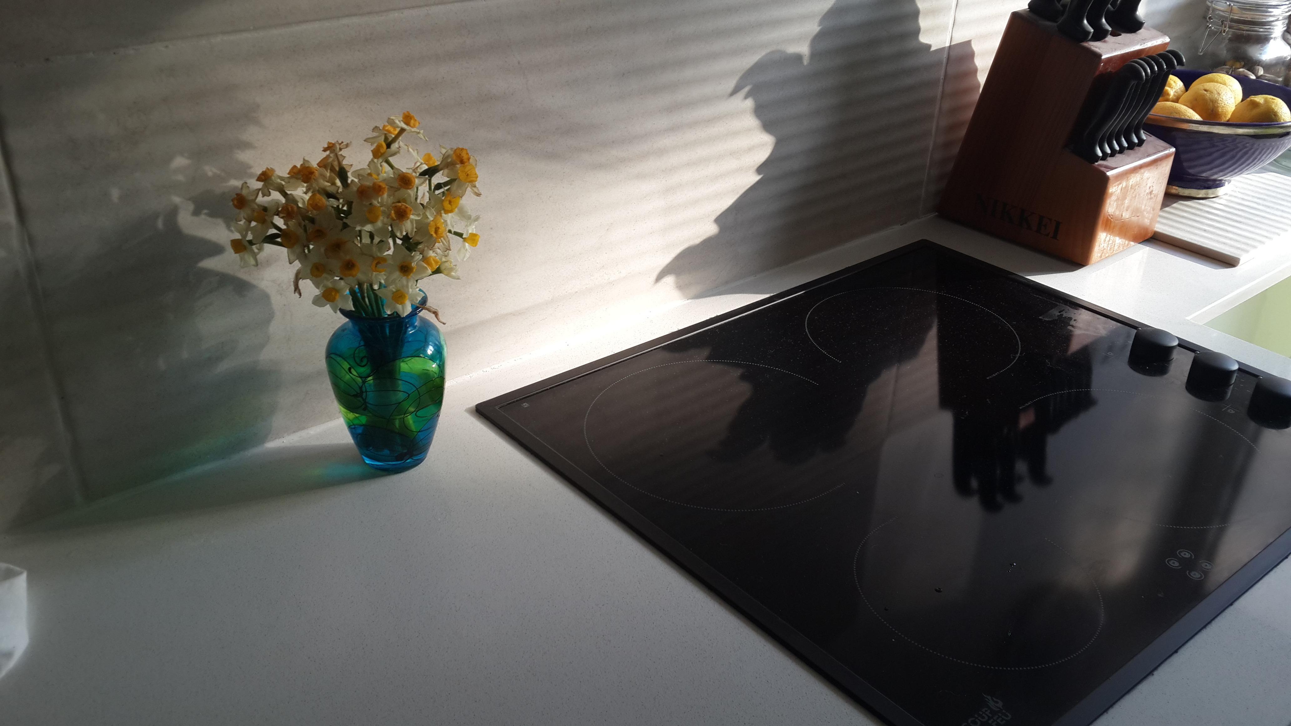 Gambar Kaca Memasak Dapur Tempat Tinggal Modern Kompor