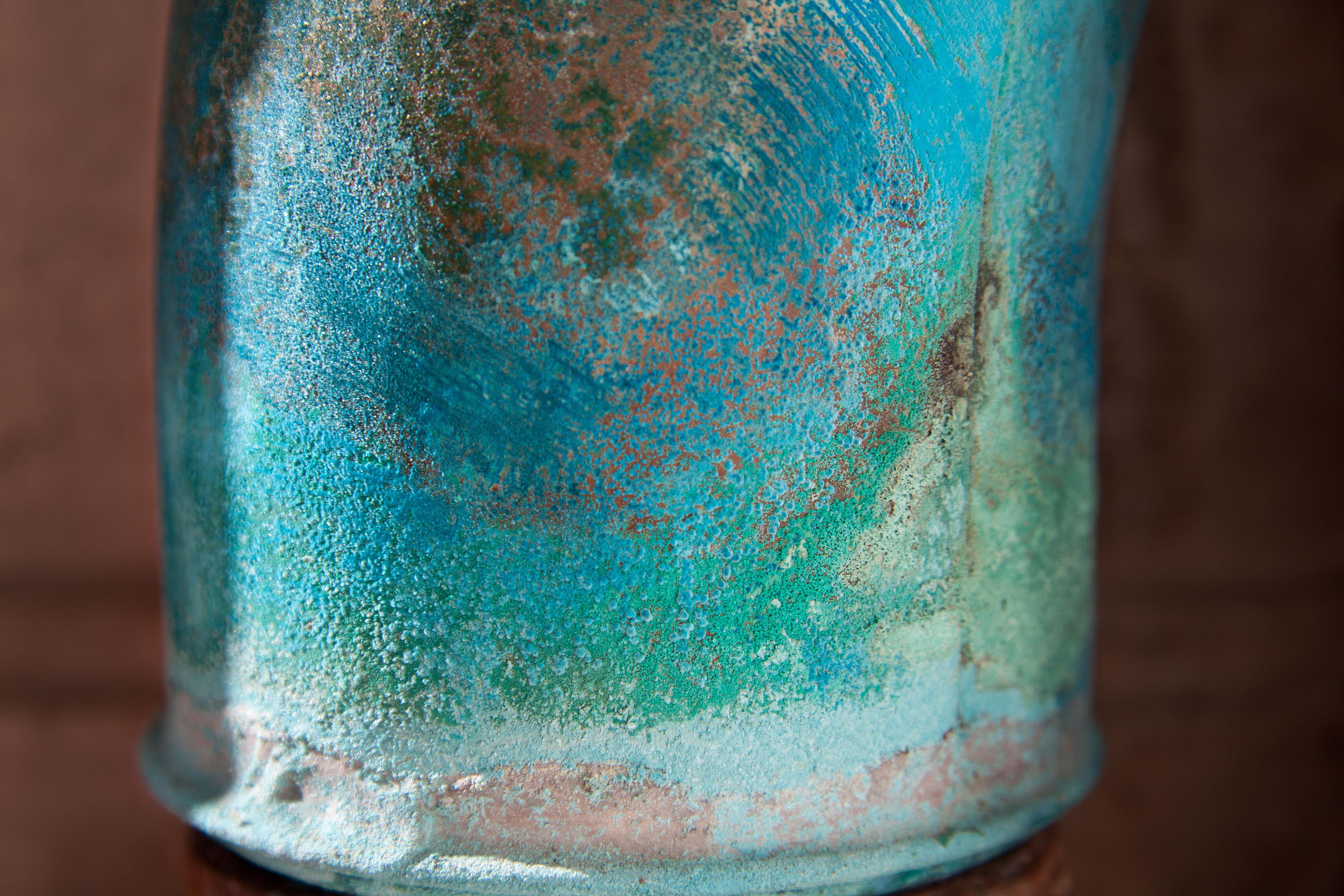 Kostenlose Foto Glas Alt Vase Grün Farbe Keramik Blau