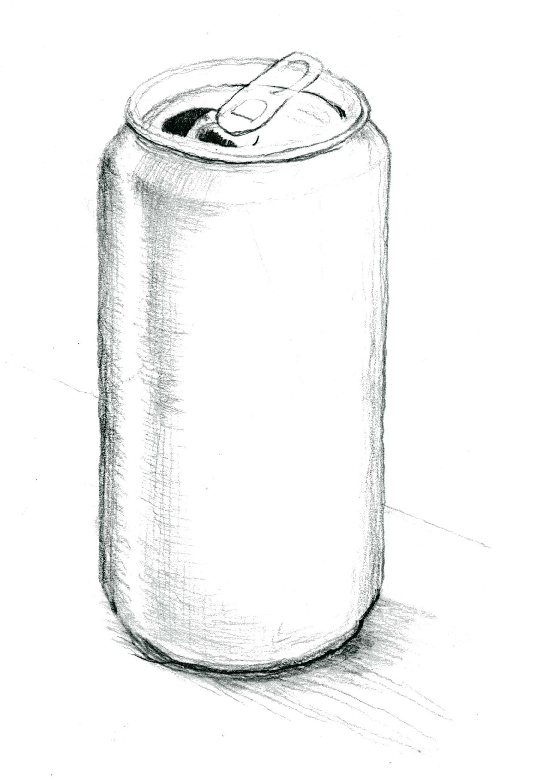 Free Vase Glass Bottle Sketch Cylinder Pencil