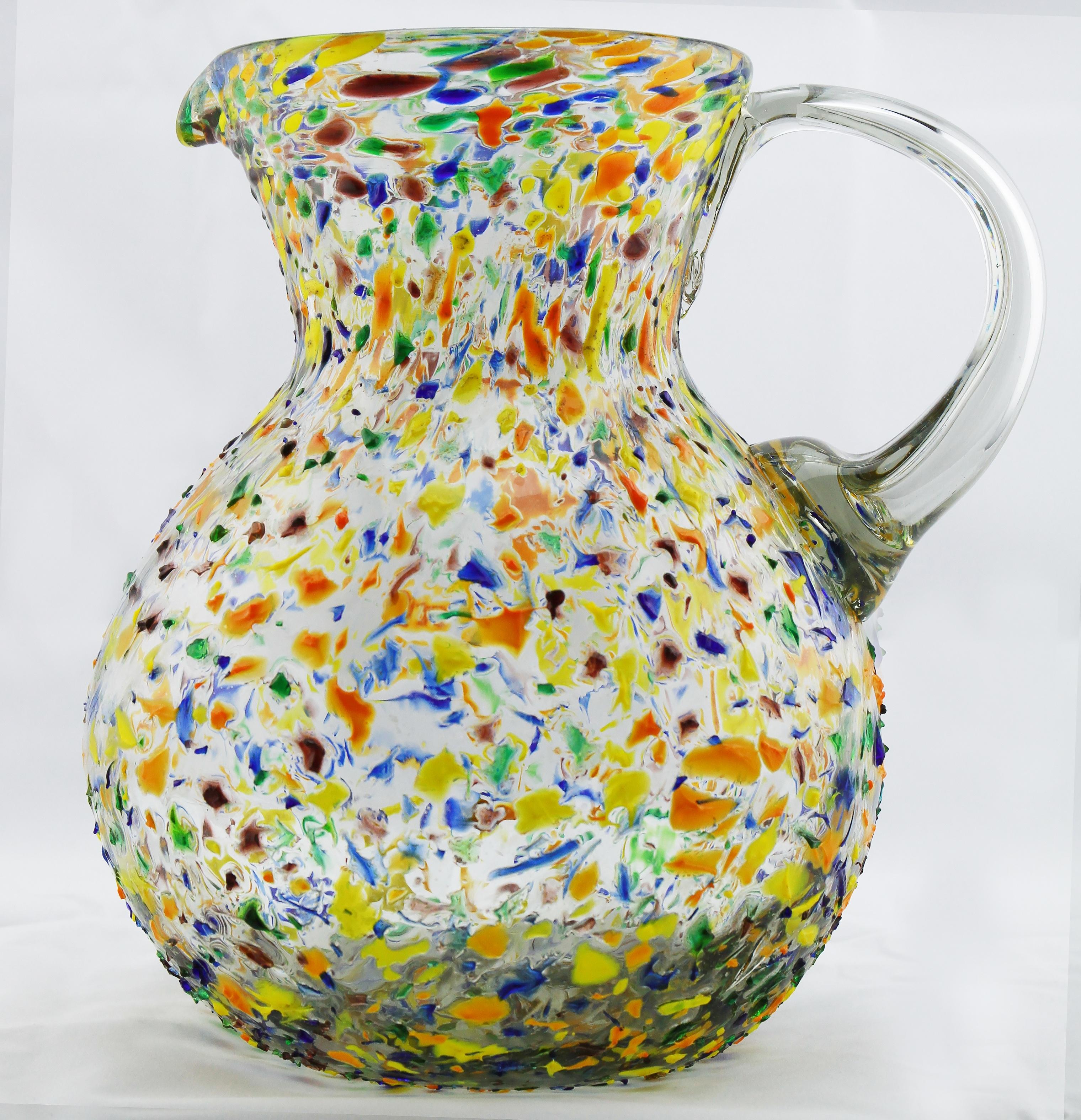 Gambar Vas Keramik Barang Tembikar Porselen Seni Kaca Juug Untuk Air Minum Kendi Berwarna Warni