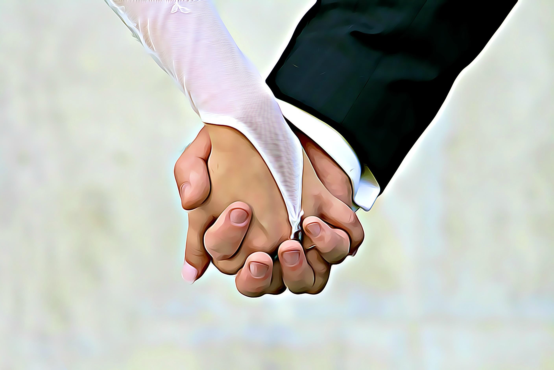 Gambar Sarung Tangan Sesuai Pernikahan Pengantin Tunangan