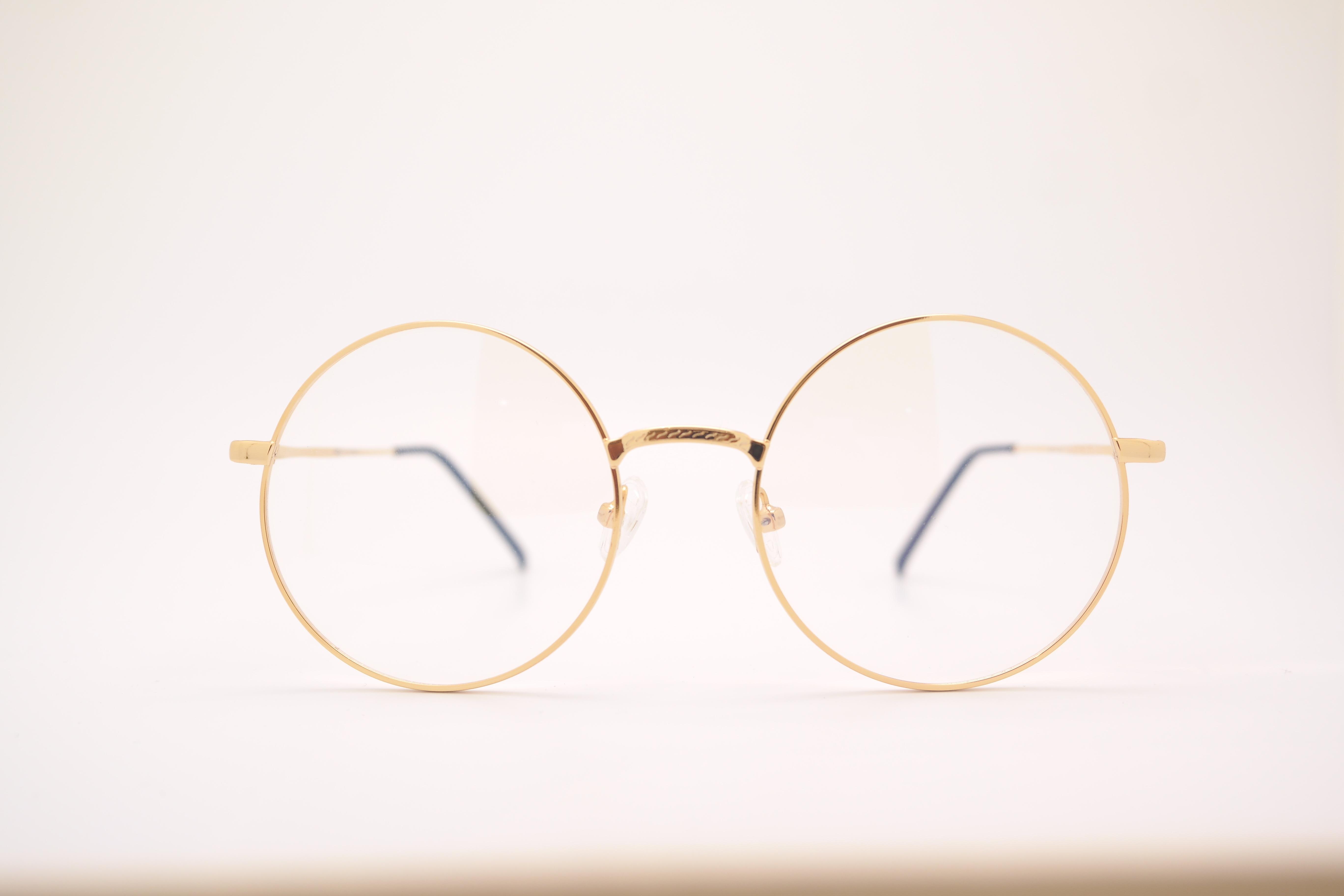 1ed7847f96d2 gylden gået i stykker cirkel font solbriller briller briller form briller  glas vision pleje lykketræf engel