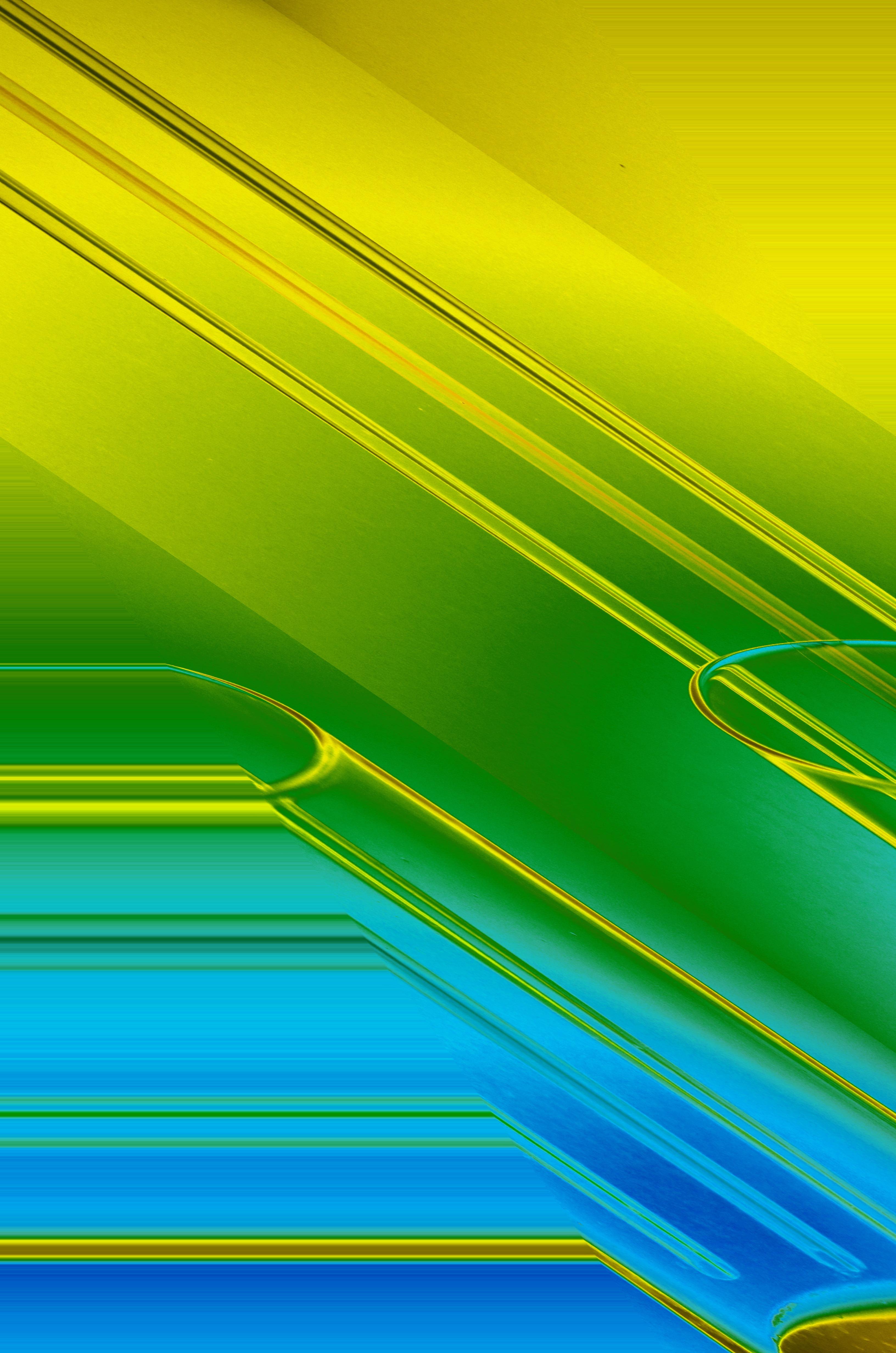 Rumput Abstrak Struktur Langit Sinar Matahari Daun Gelombang Kaca Suasana Garis Hijau Warna Kuning Modern Lingkaran