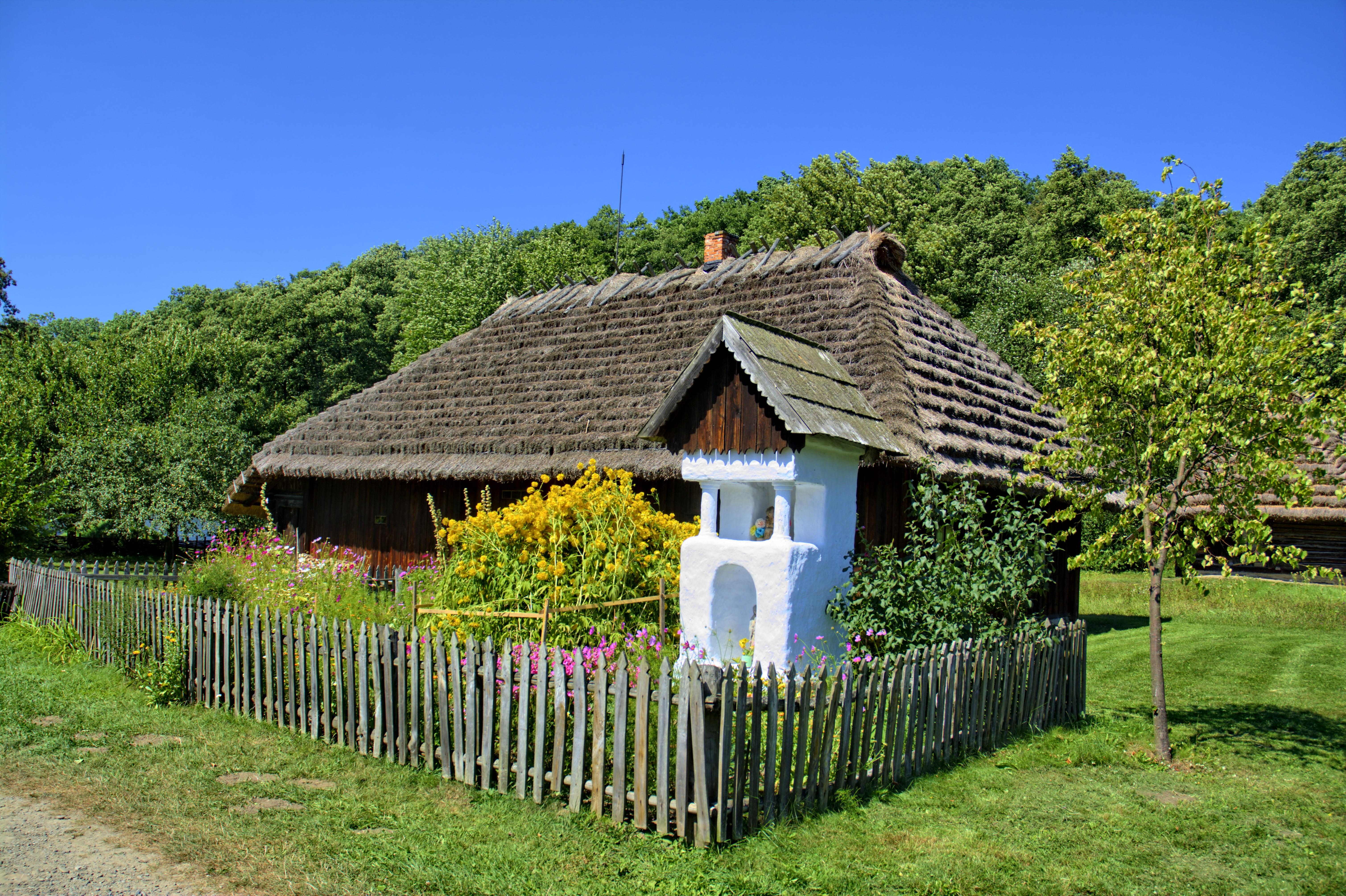 Деревни сады польши фото новые