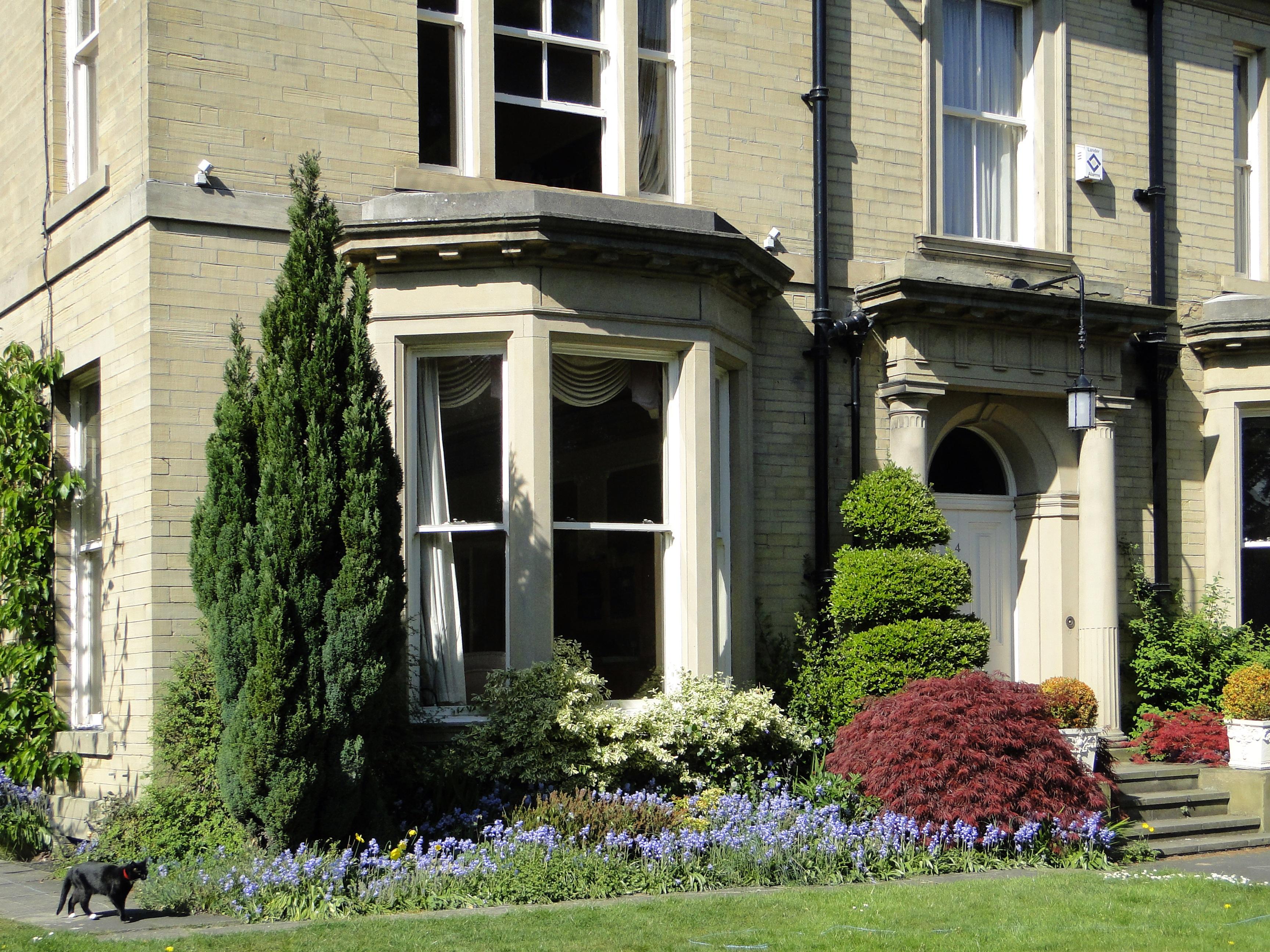 Images gratuites herbe architecture pelouse villa manoir fleur fen tre b timent porche for Fenetre villa