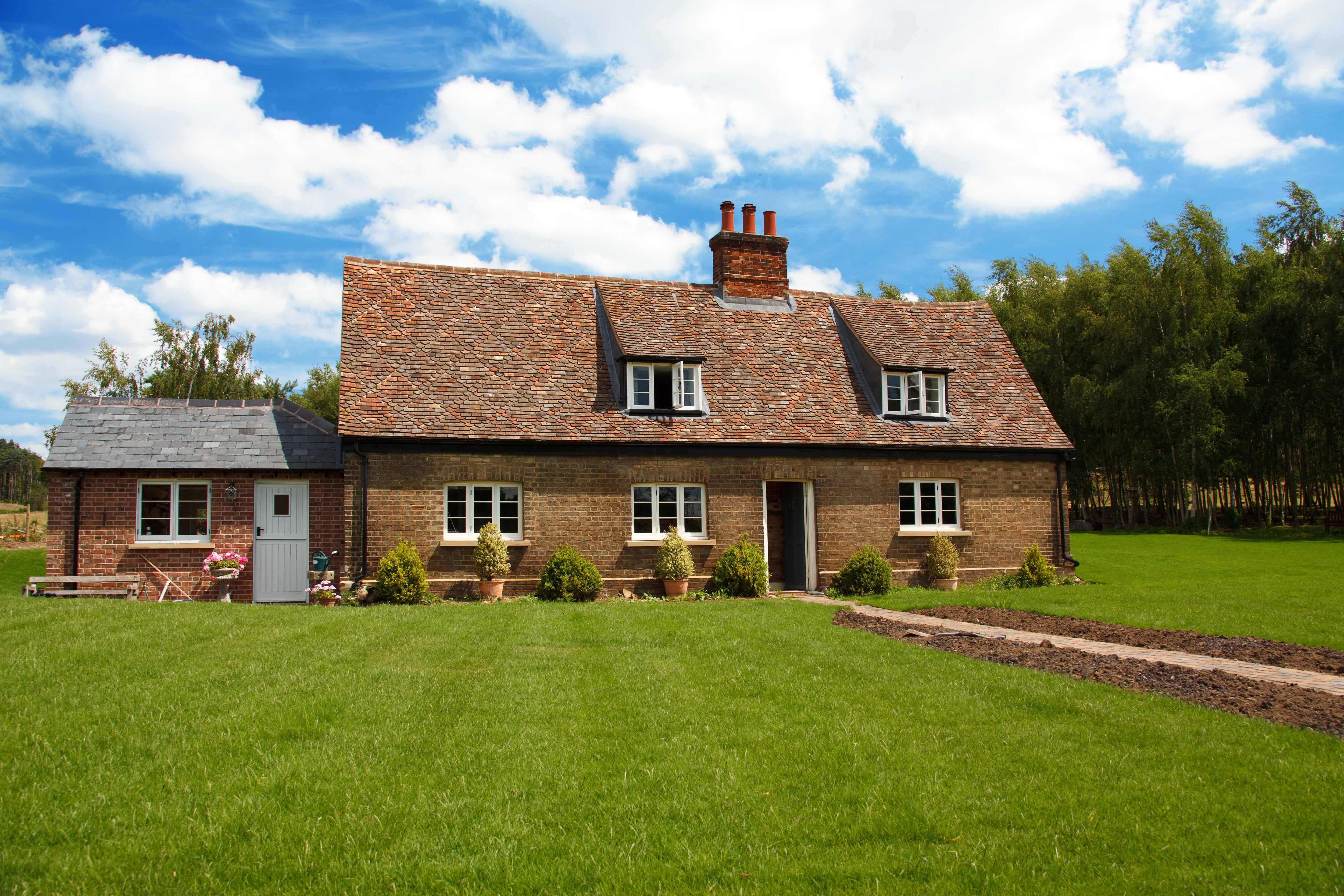картинки новых домов в деревне