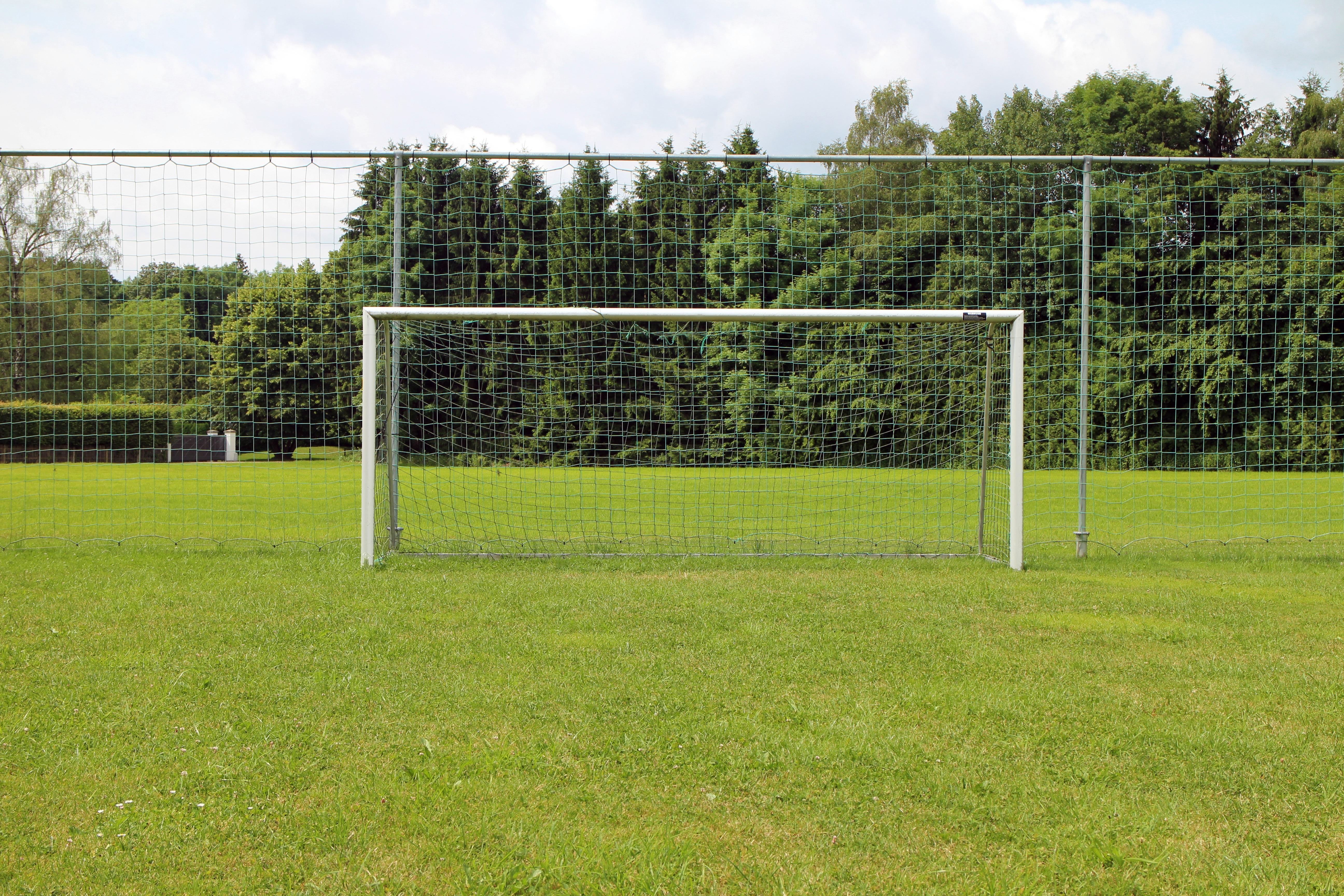 Картинка ворота футбольного поля