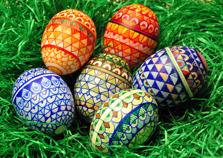 Пасхальные картинки на яйца