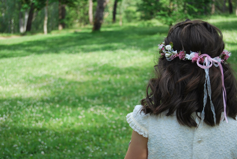 Вид сзади девушек с волосами фото