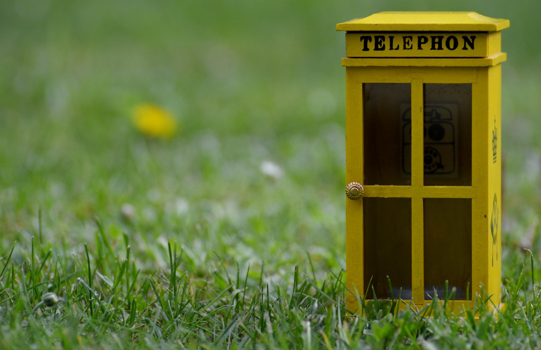 Kostenlose foto : Gras, Rasen, Grün, Telefon, Kommunikation, Gelb ...