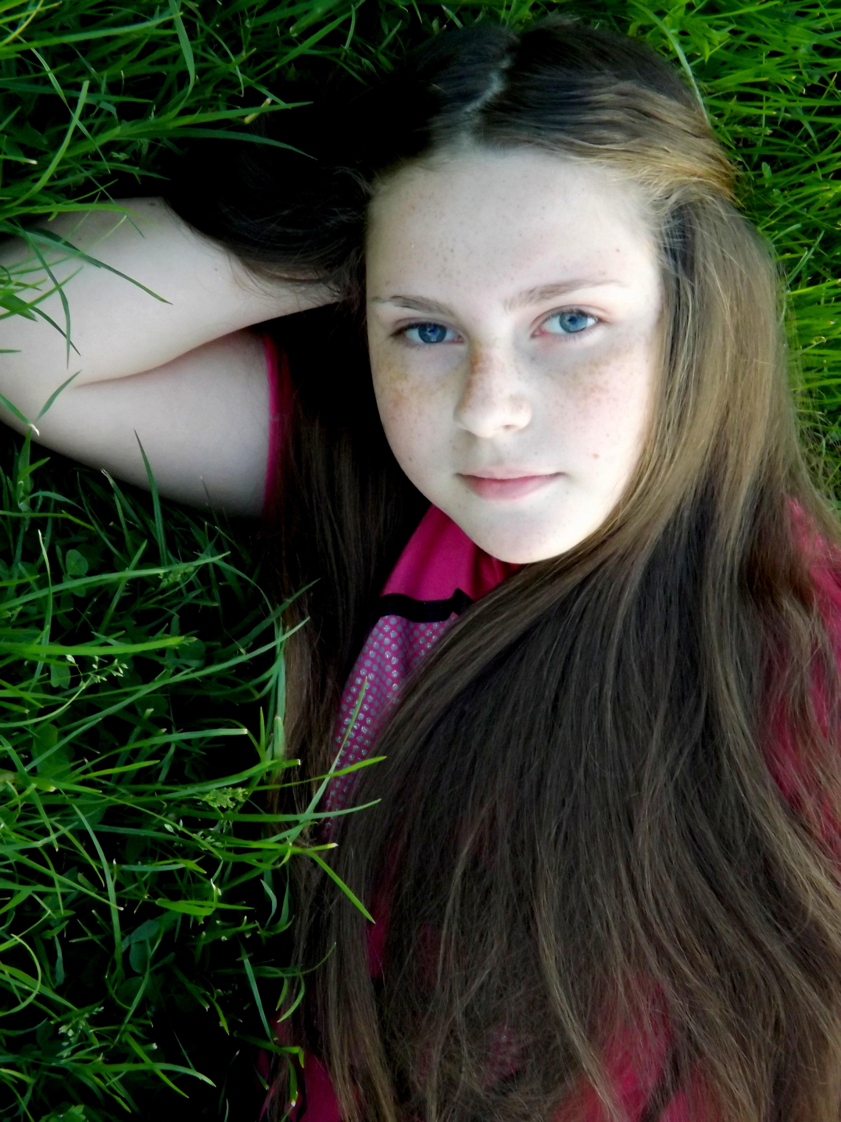 Braune haare sommersprossen Die 10