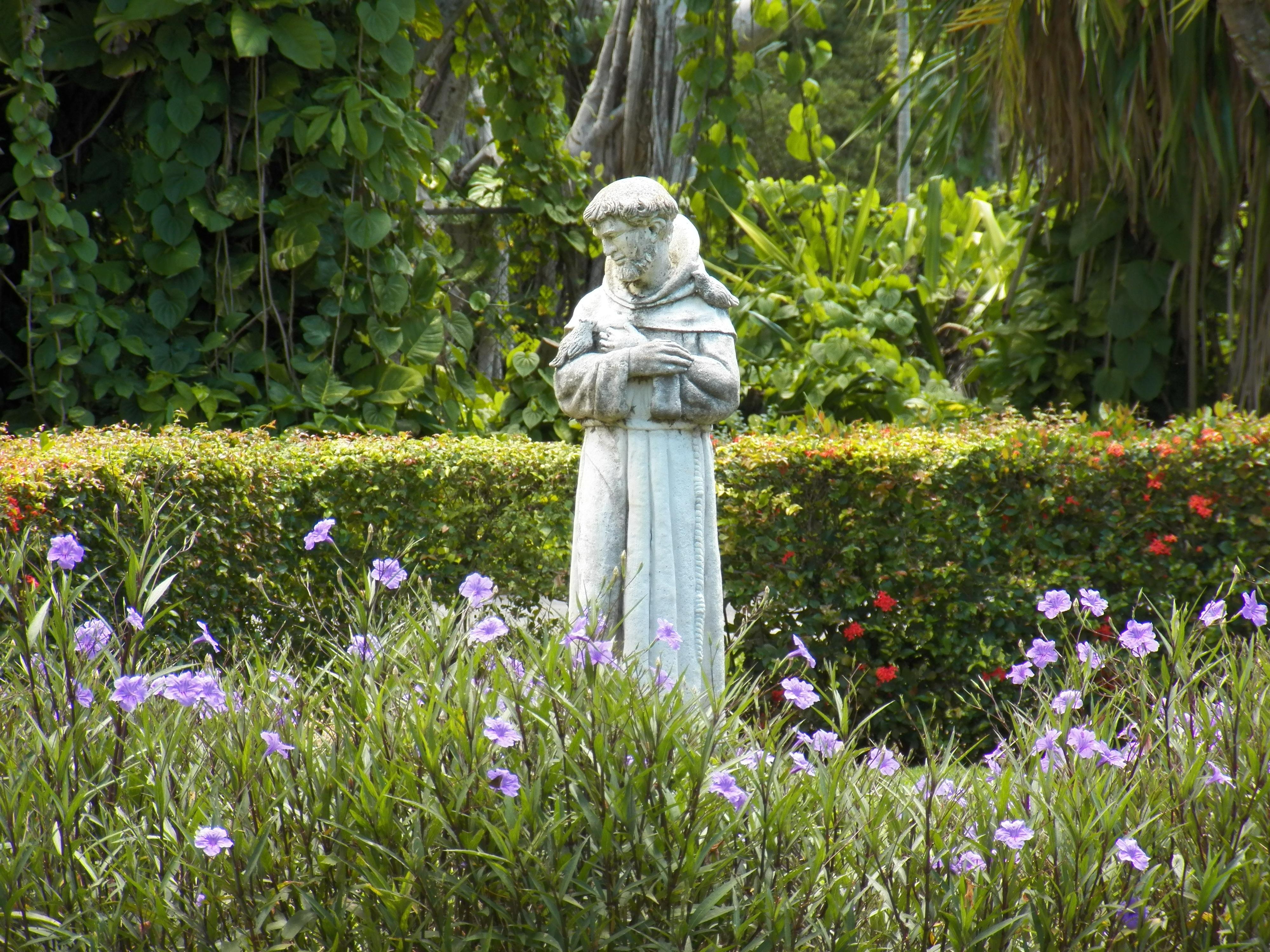 Grass Plant Lawn Meadow Flower Monument Statue Park Botany Garden Christian  Flora Wildflower Religious Botanical Garden