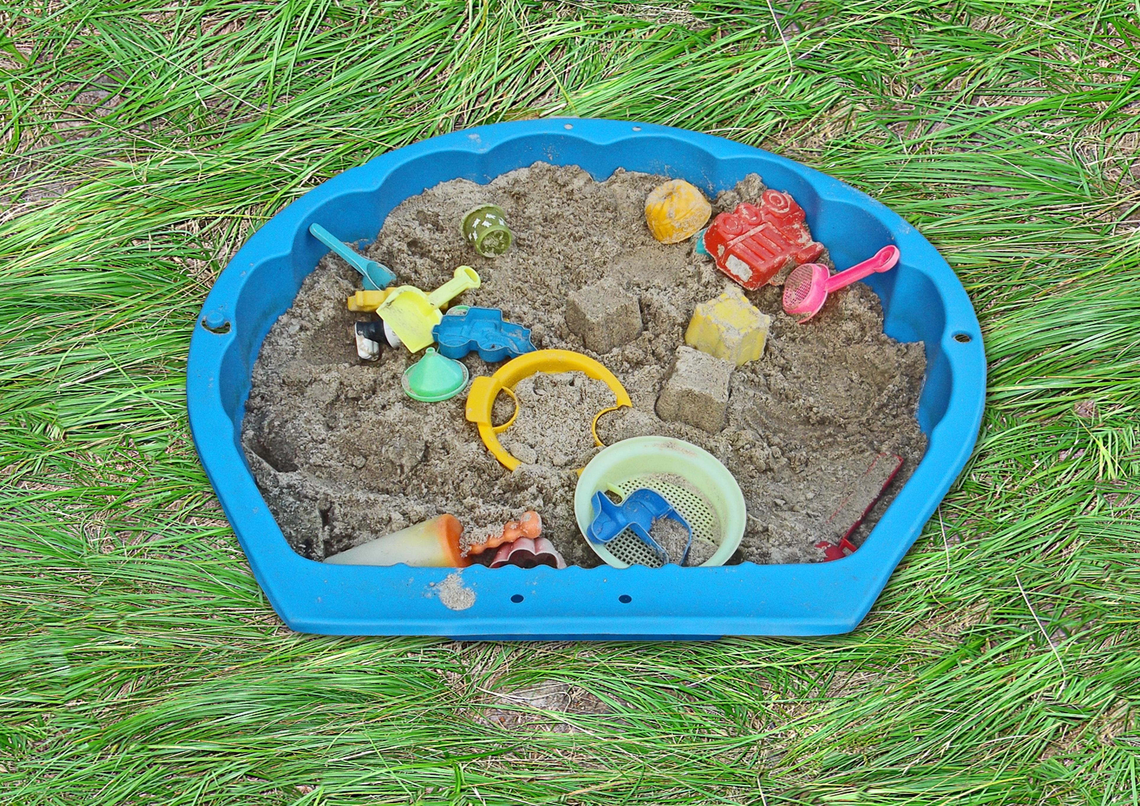fotos gratis csped prado jugar el plastico estanque patio interior nio jardn cscara patio de recreo camada juguetes excavacin fuera