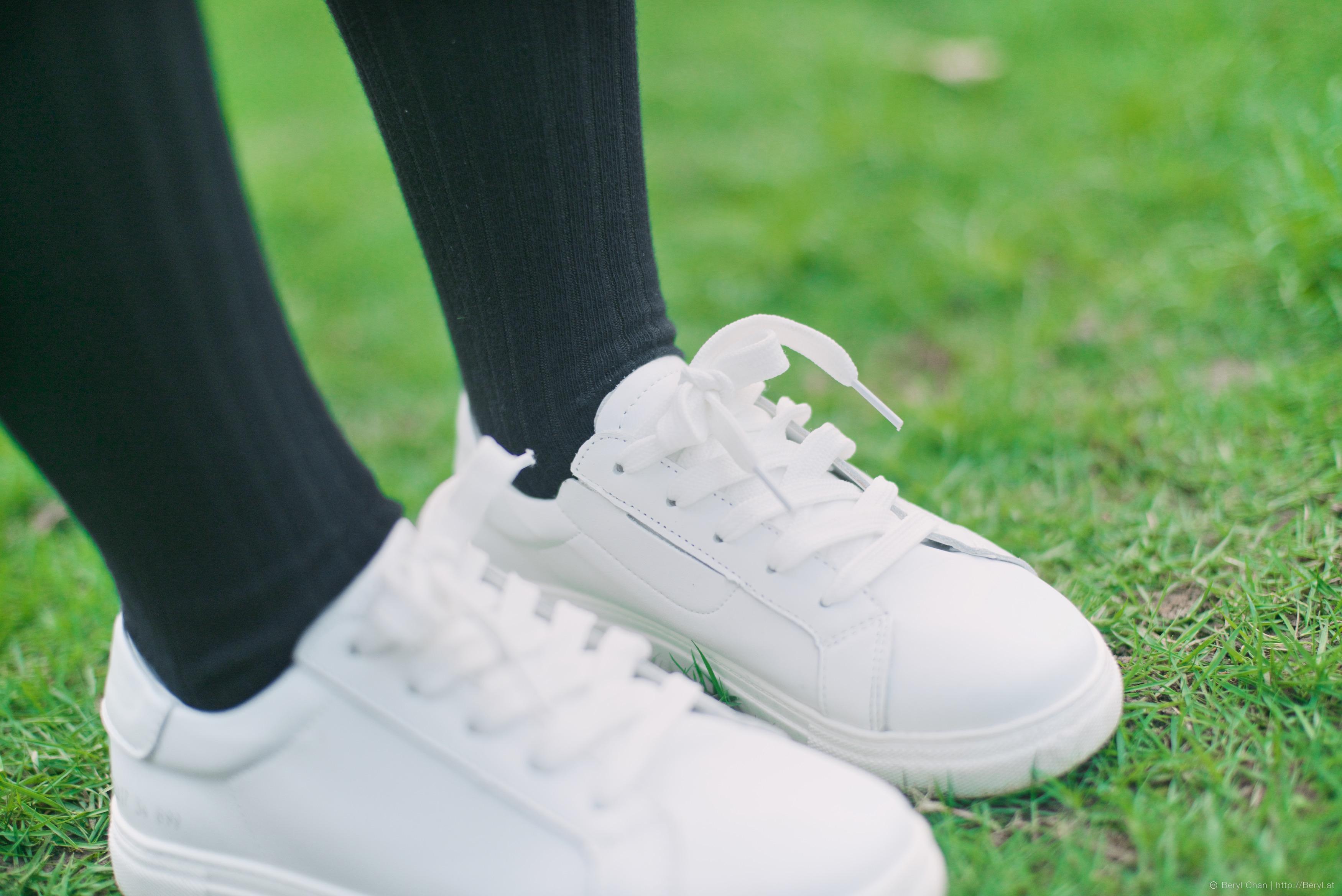 Zapato Niña Blanco Deporte Césped Fotos Primavera Gratis Bq7nE