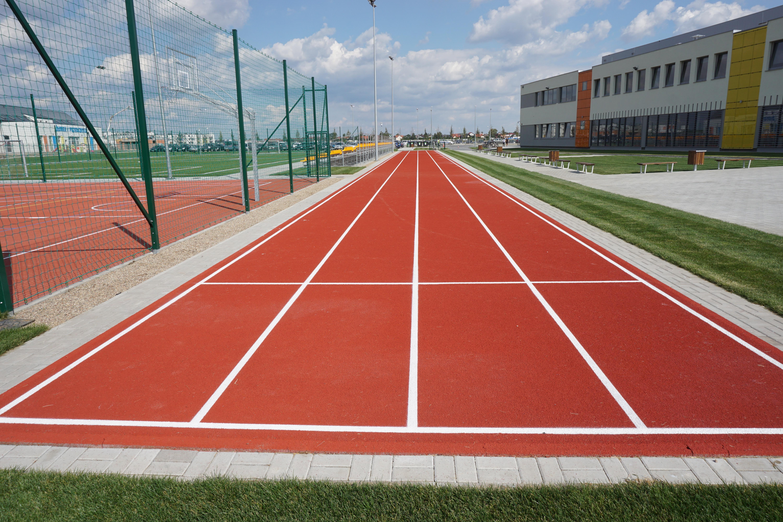 Images Gratuites : herbe, structure, sport, temps, le jogging, voie, stade, terrain de baseball ...