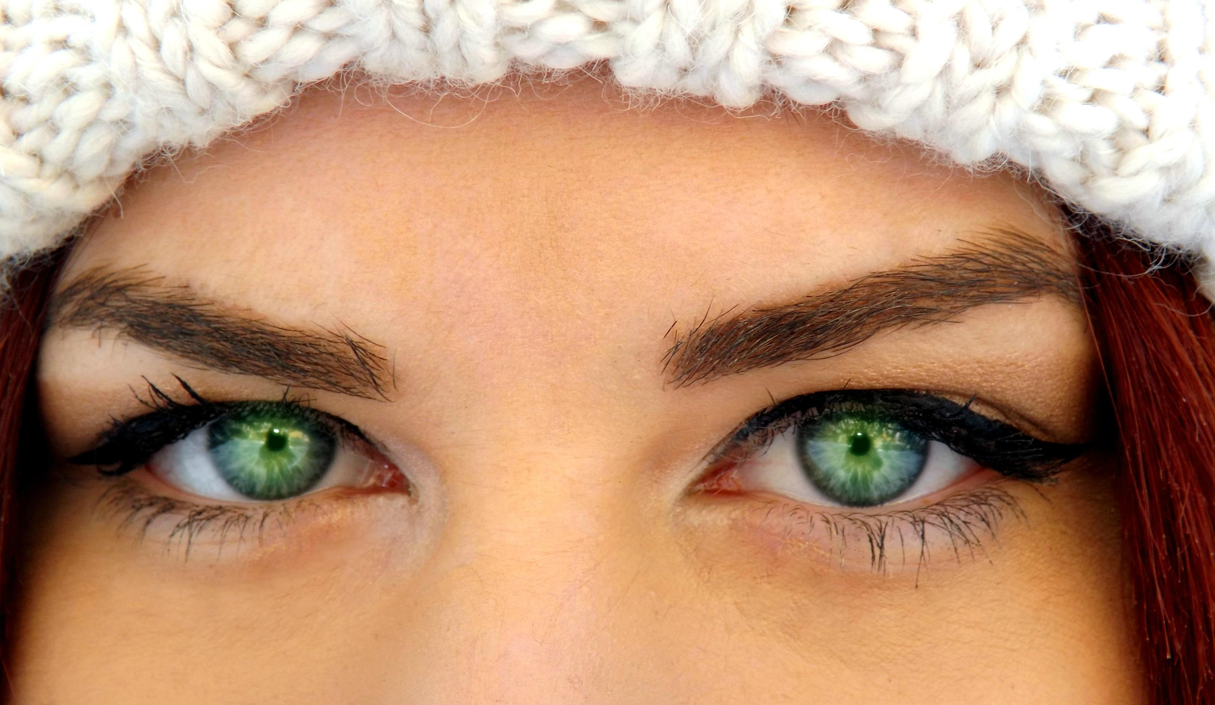 Mavi ve Yeşil Gözler için Göz Makyajı