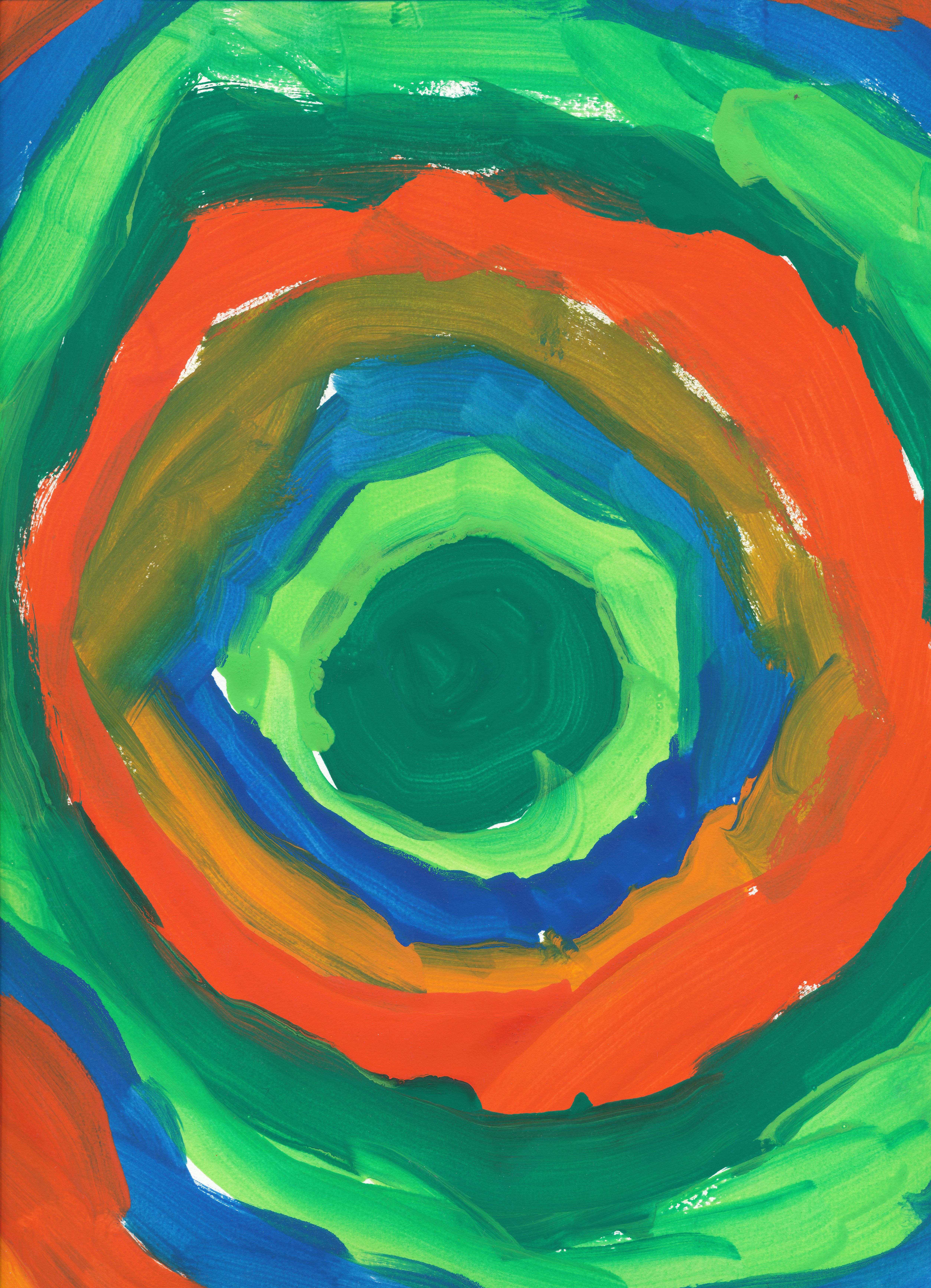 Images gratuites vert couleur peindre color cercle for Forme peinture