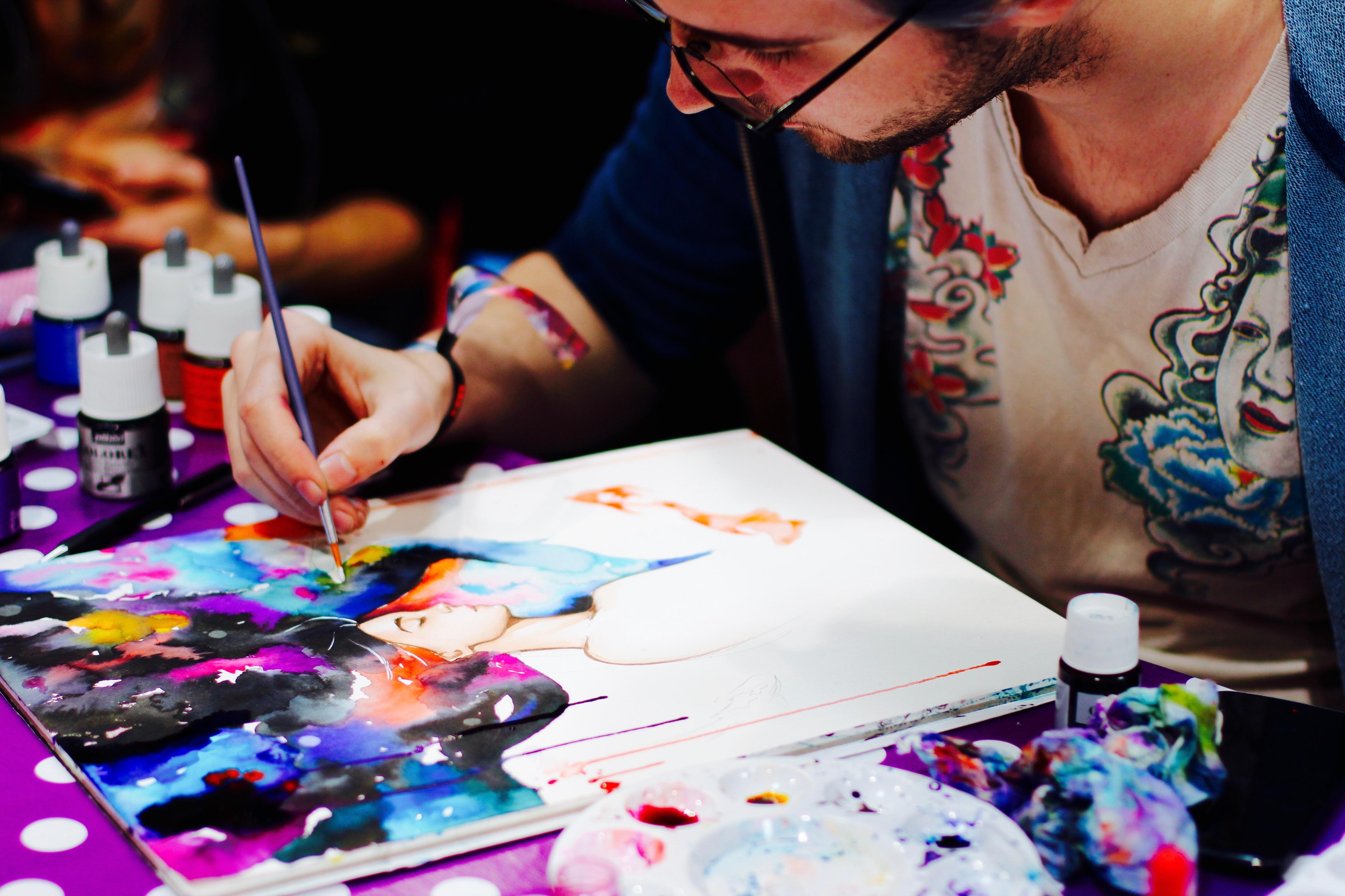 Künstler Dortmund kostenlose foto gruppe künstler farbe kunst zahl